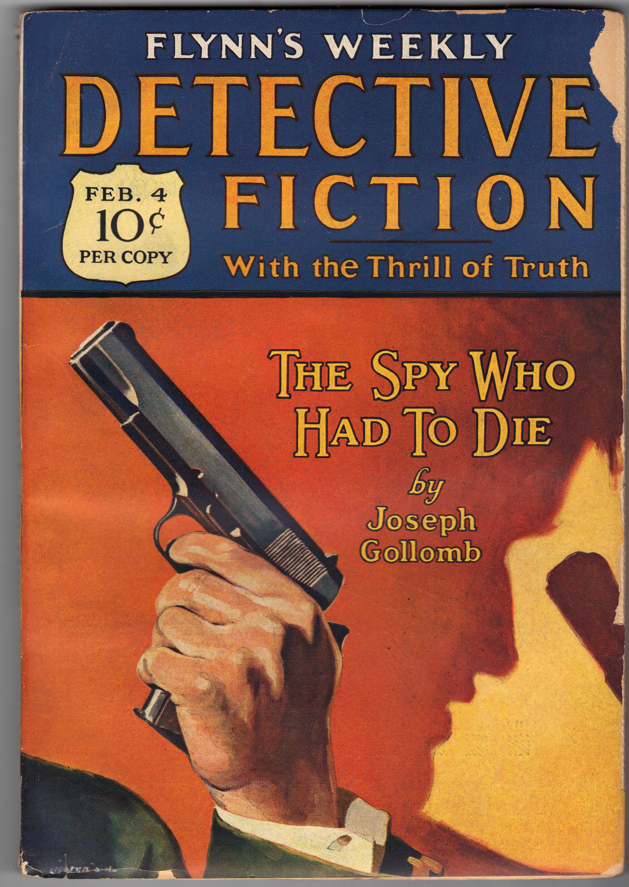 Image for FLYNN'S WEEKLY DETECTIVE FICTION