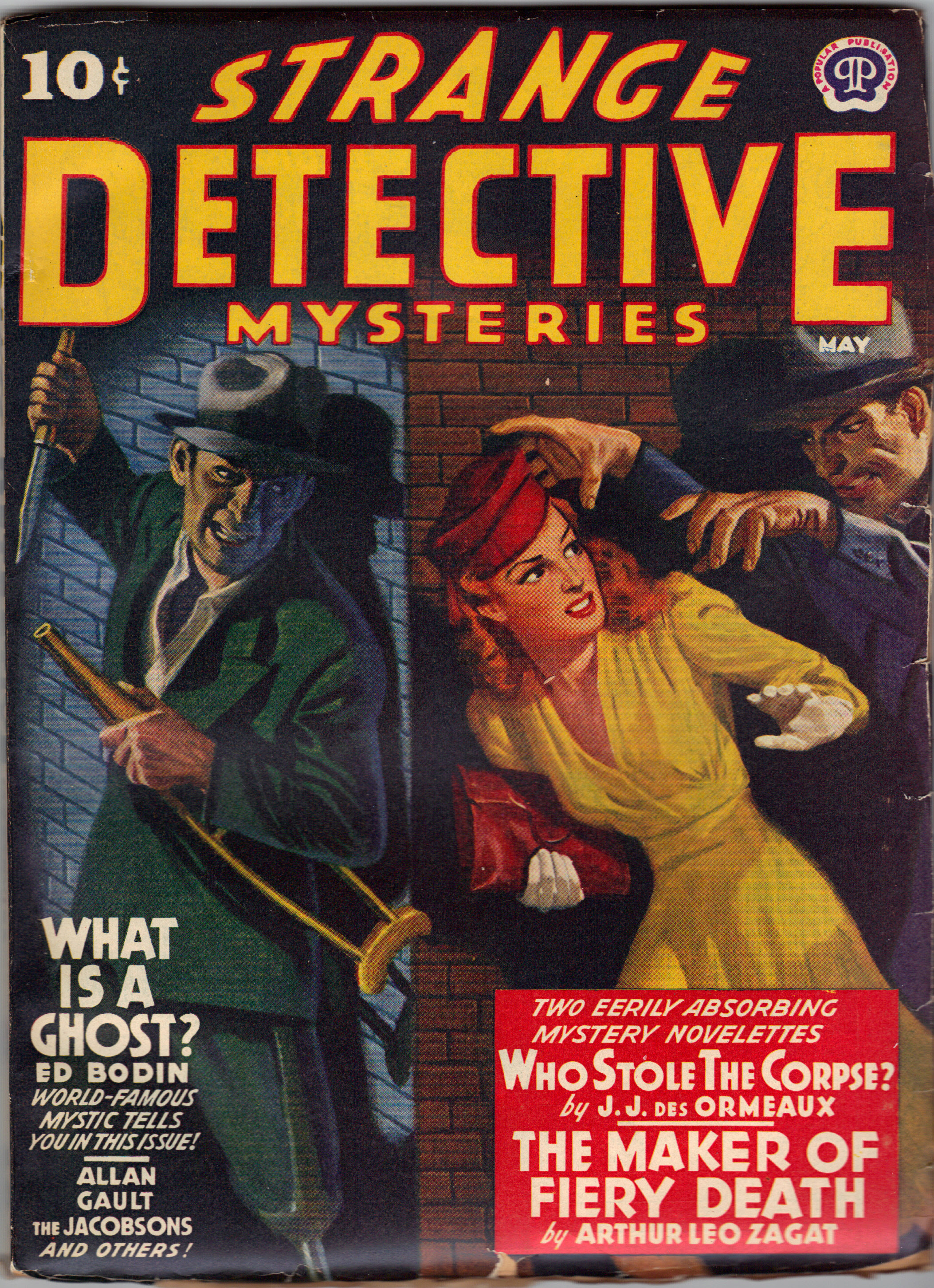 Image for STRANGE DETECTIVE Stories
