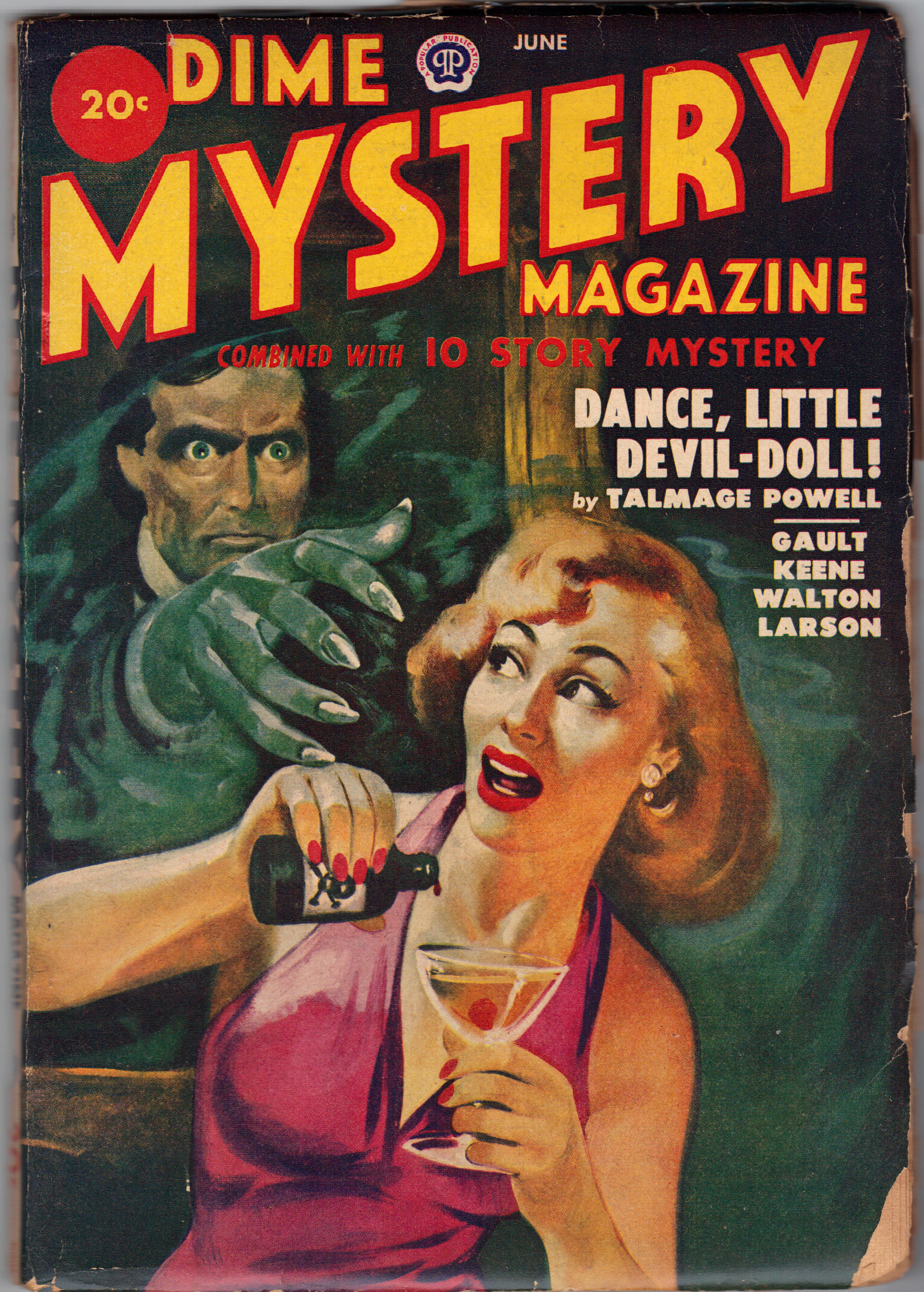 Image for DIME MYSTERY Magazine