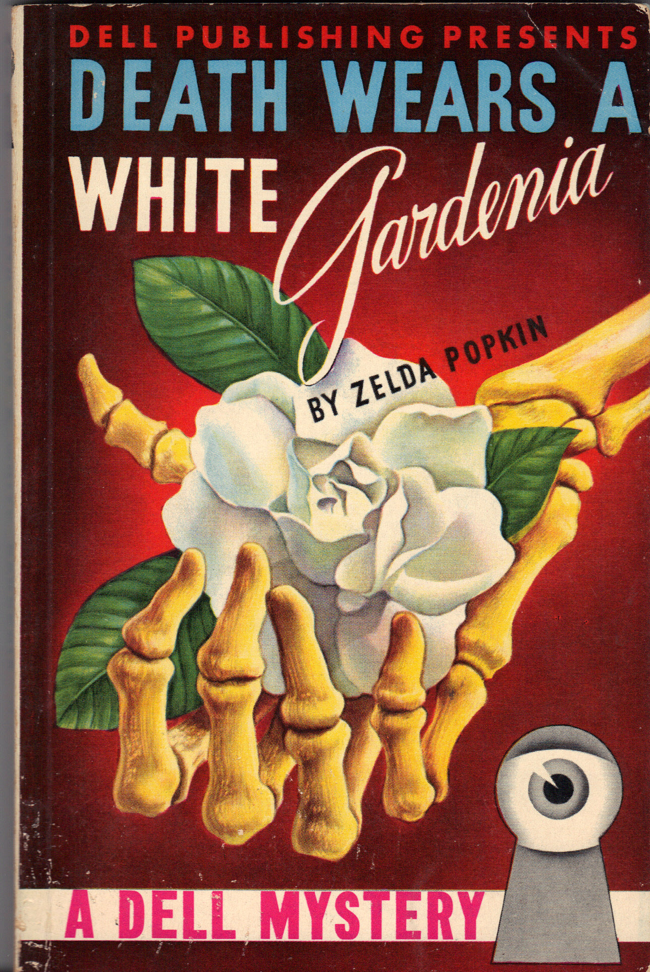 Image for DEATH WEARS A WHITE GARDENIA