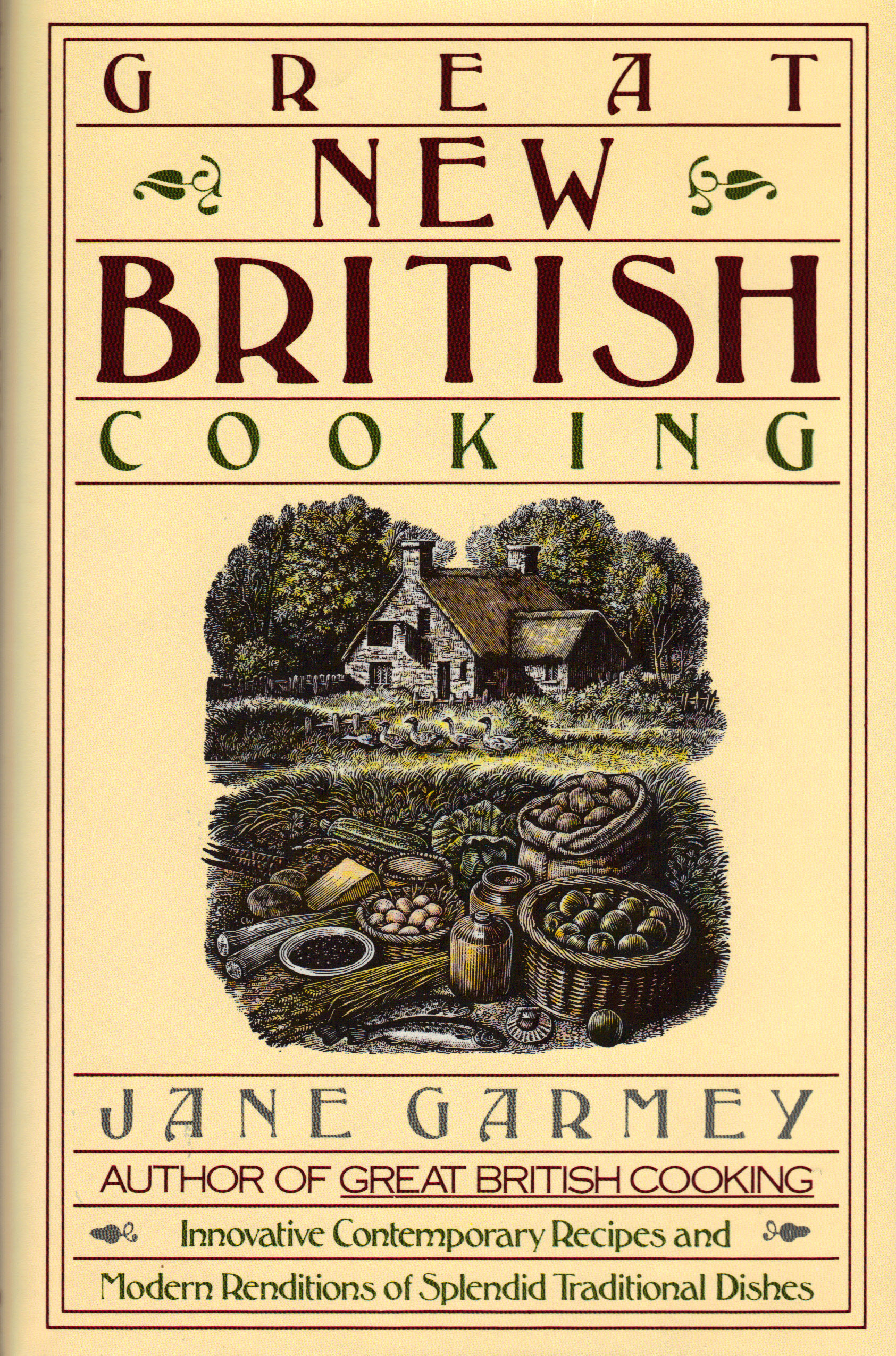Image for GREAT NEW BRITISH COOKING