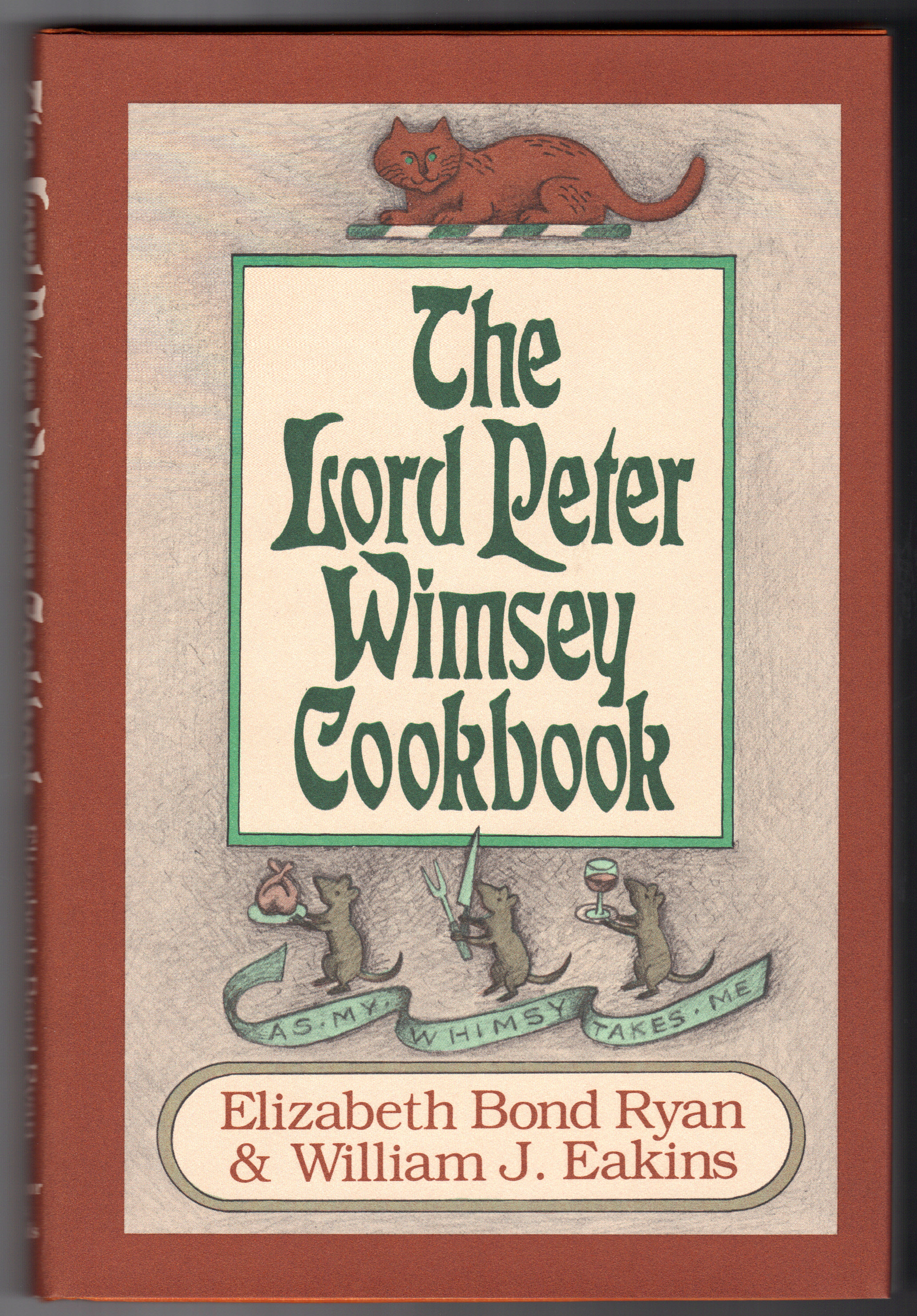 Image for LORD PETER WIMSEY COOKBOOK