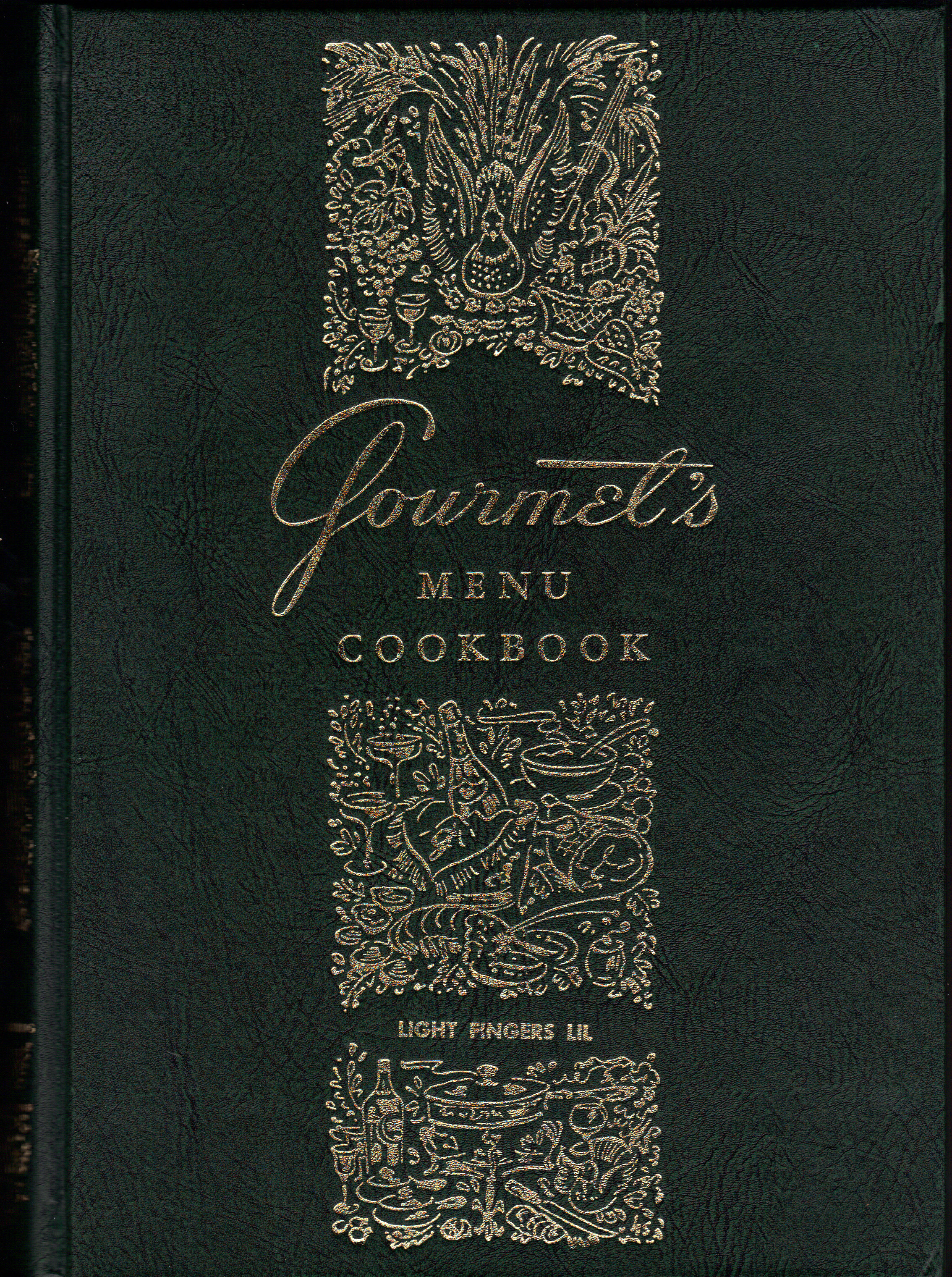 Image for GOURMET'S MENU COOKBOOK