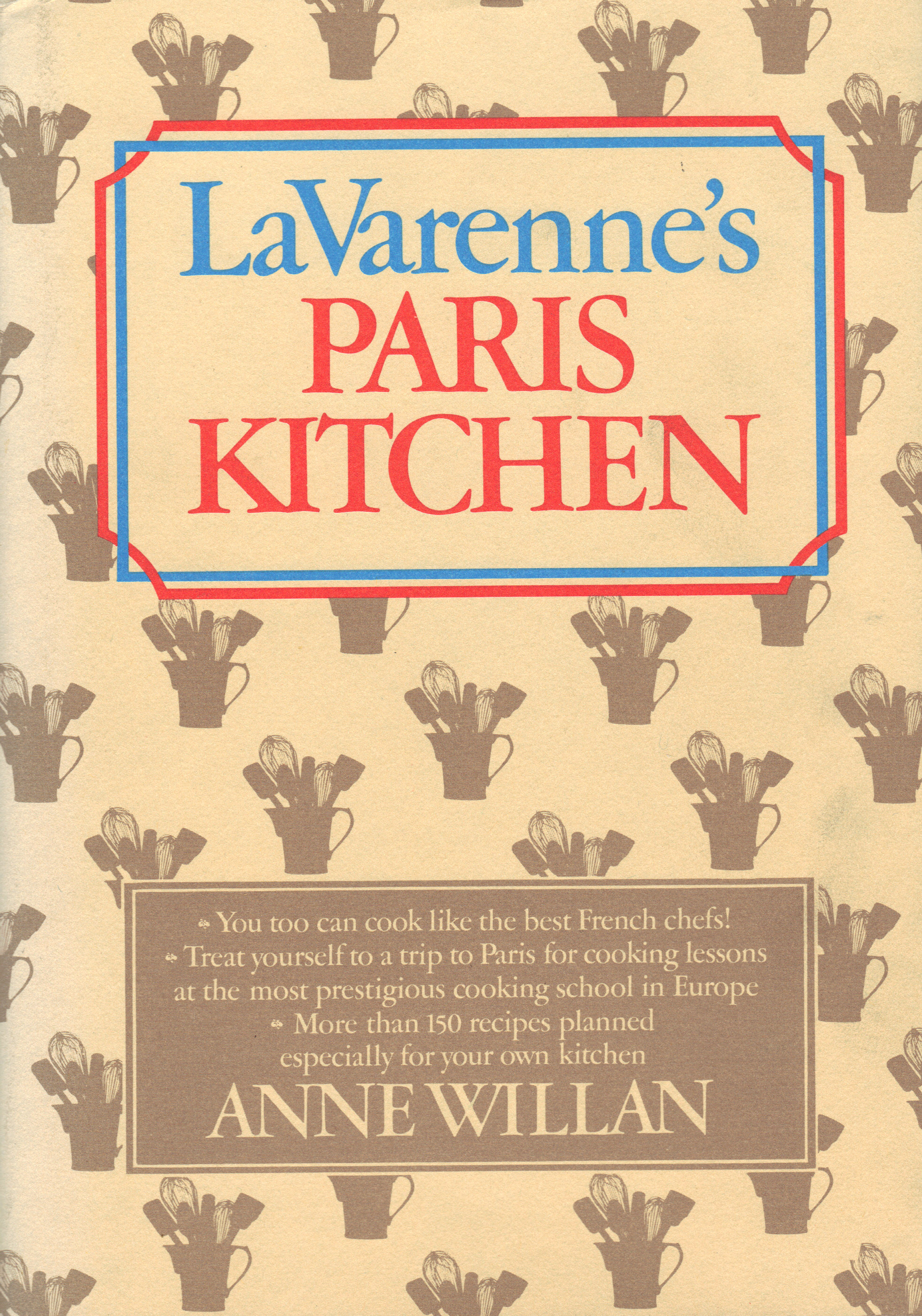 Image for LA VARENNE'S PARIS KITCHEN