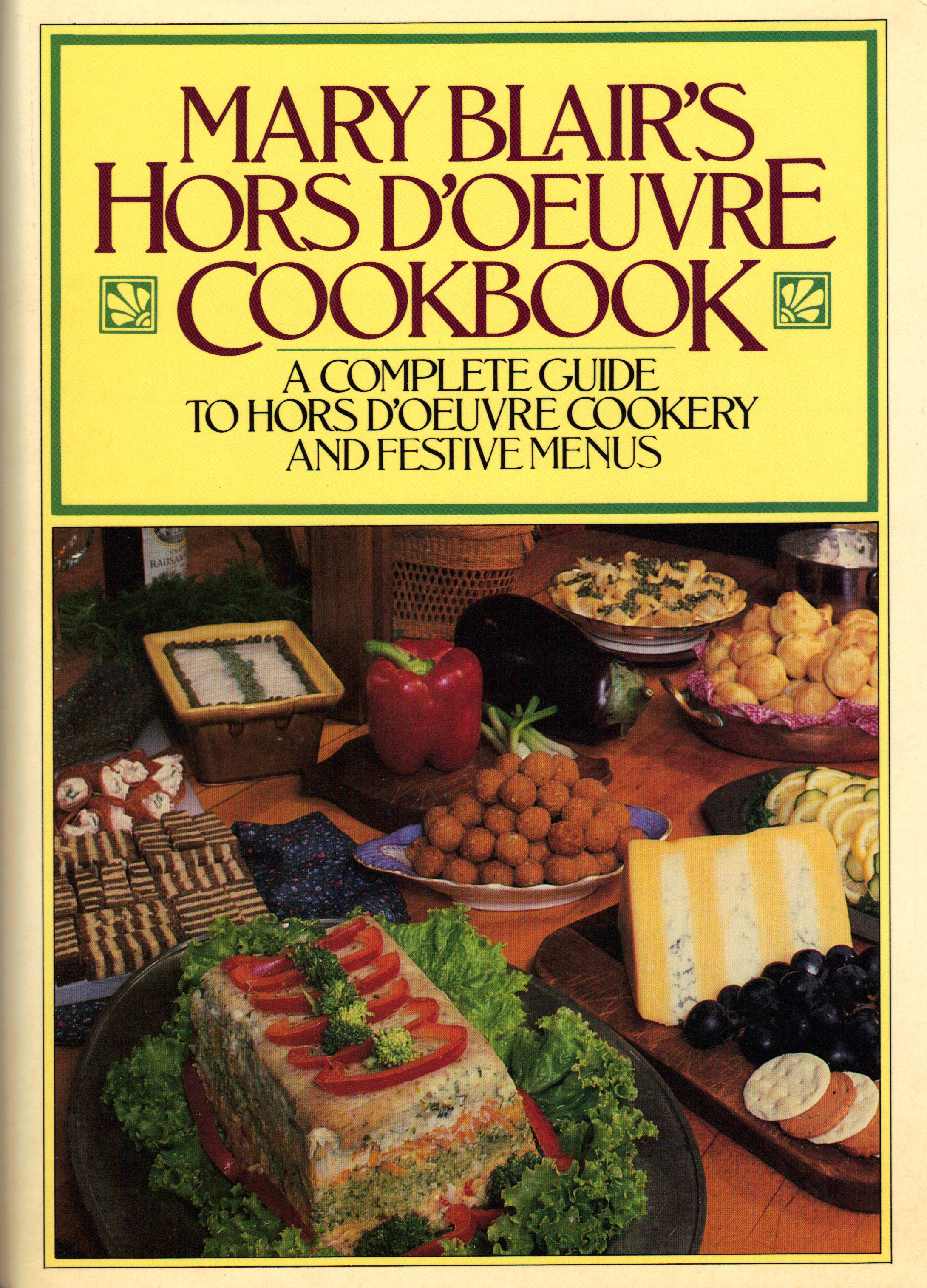 Image for MARY BLAIR'S HORS D'OEUVRE COOKBOOK