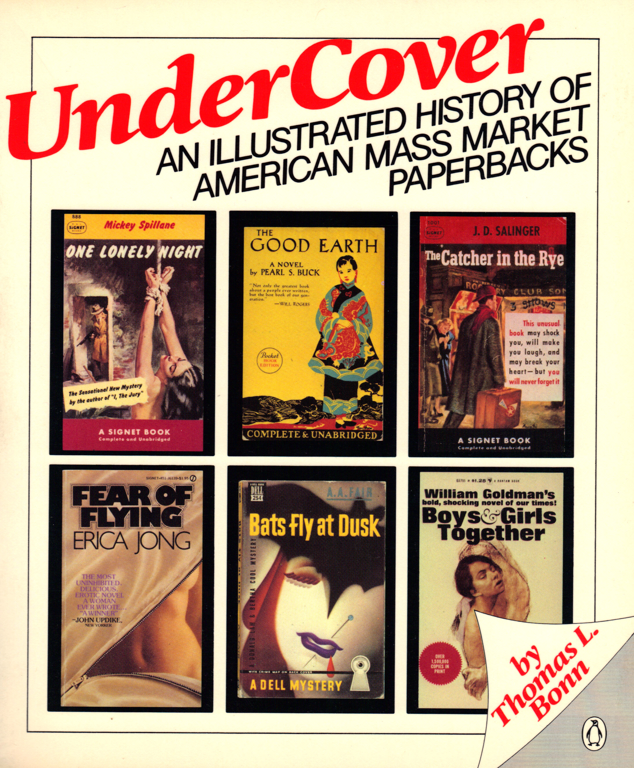 Image for UNDER COVER, An Illustrated History of American Mass Market Paperbacks