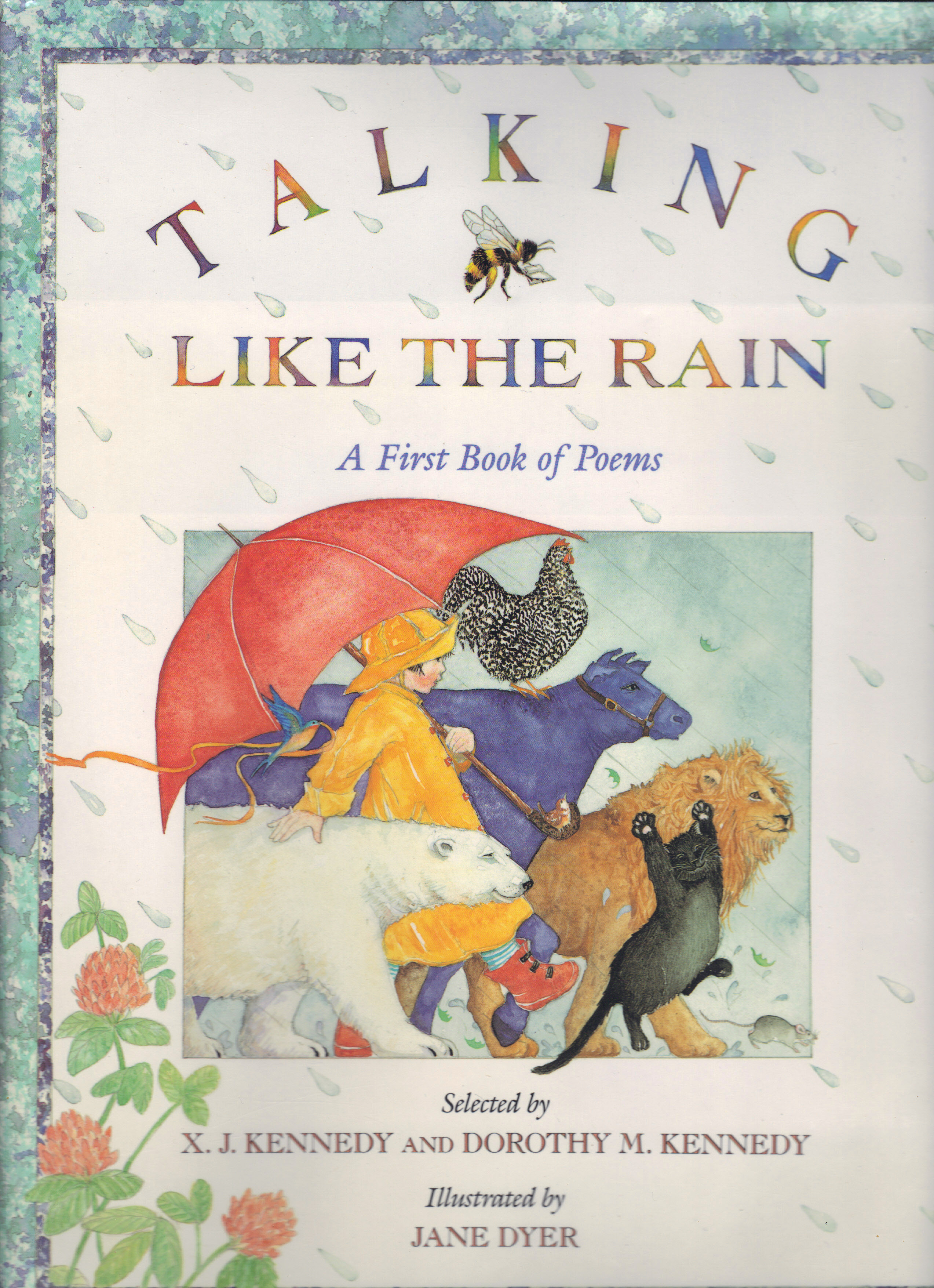 Image for TALKING LIKE THE RAIN, A First Book of Poems