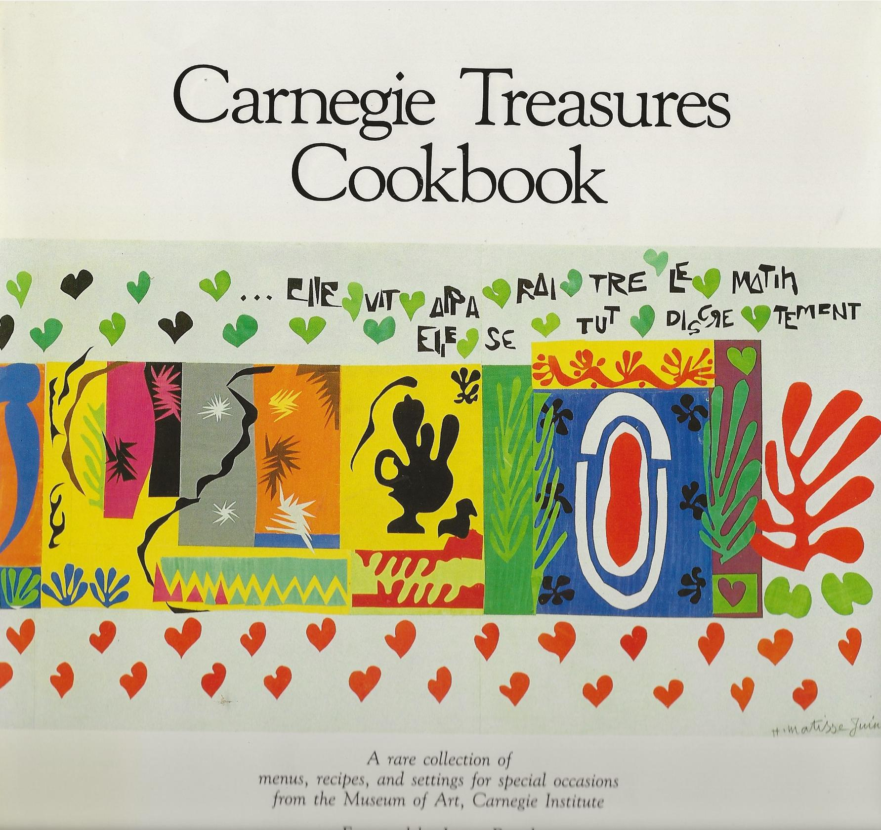 Image for CARNEGIE TREASURES COOKBOOK