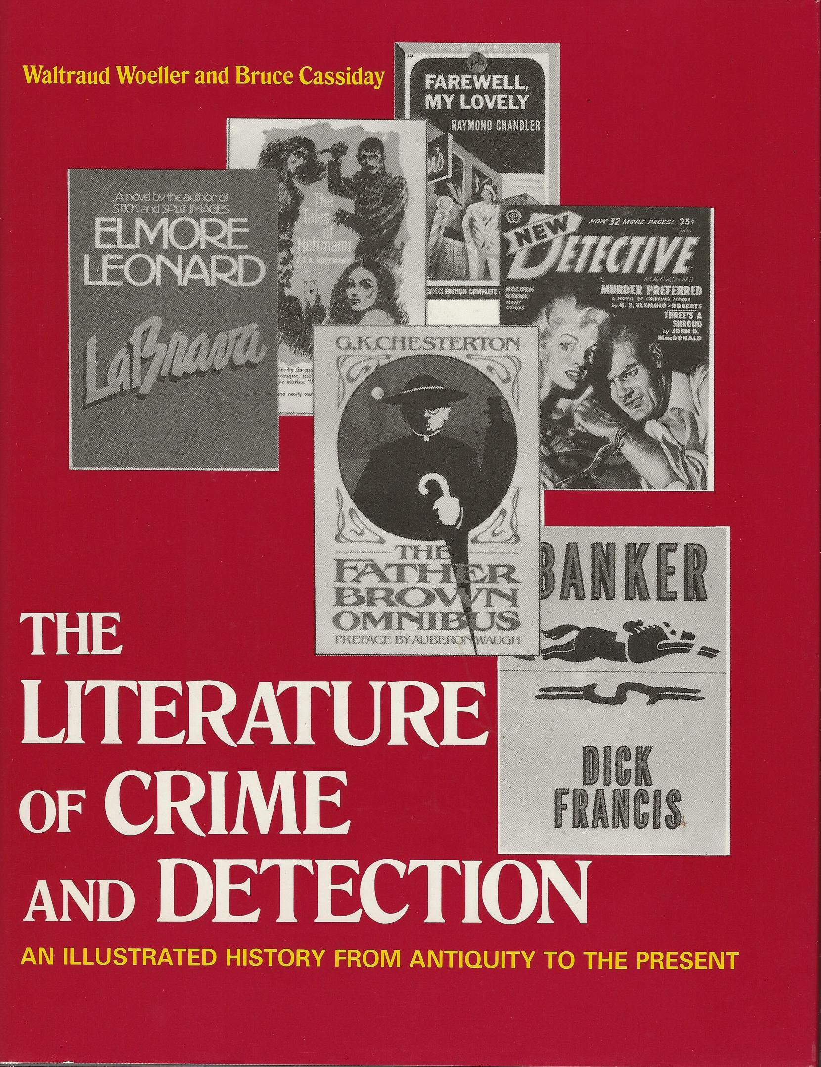 Image for THE LITERATURE OF CRIME AND DETECTION