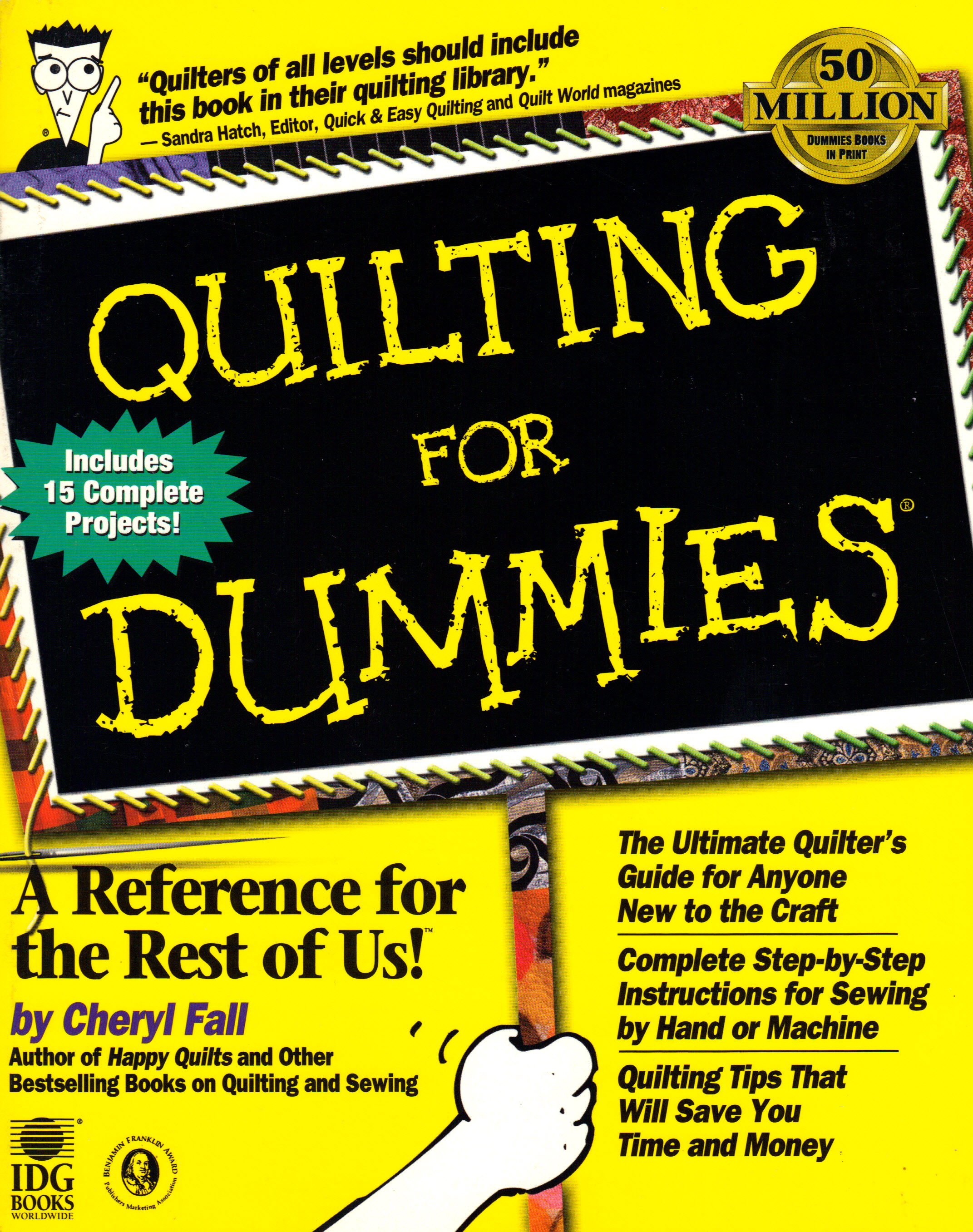Image for QUILTING FOR DUMMIES