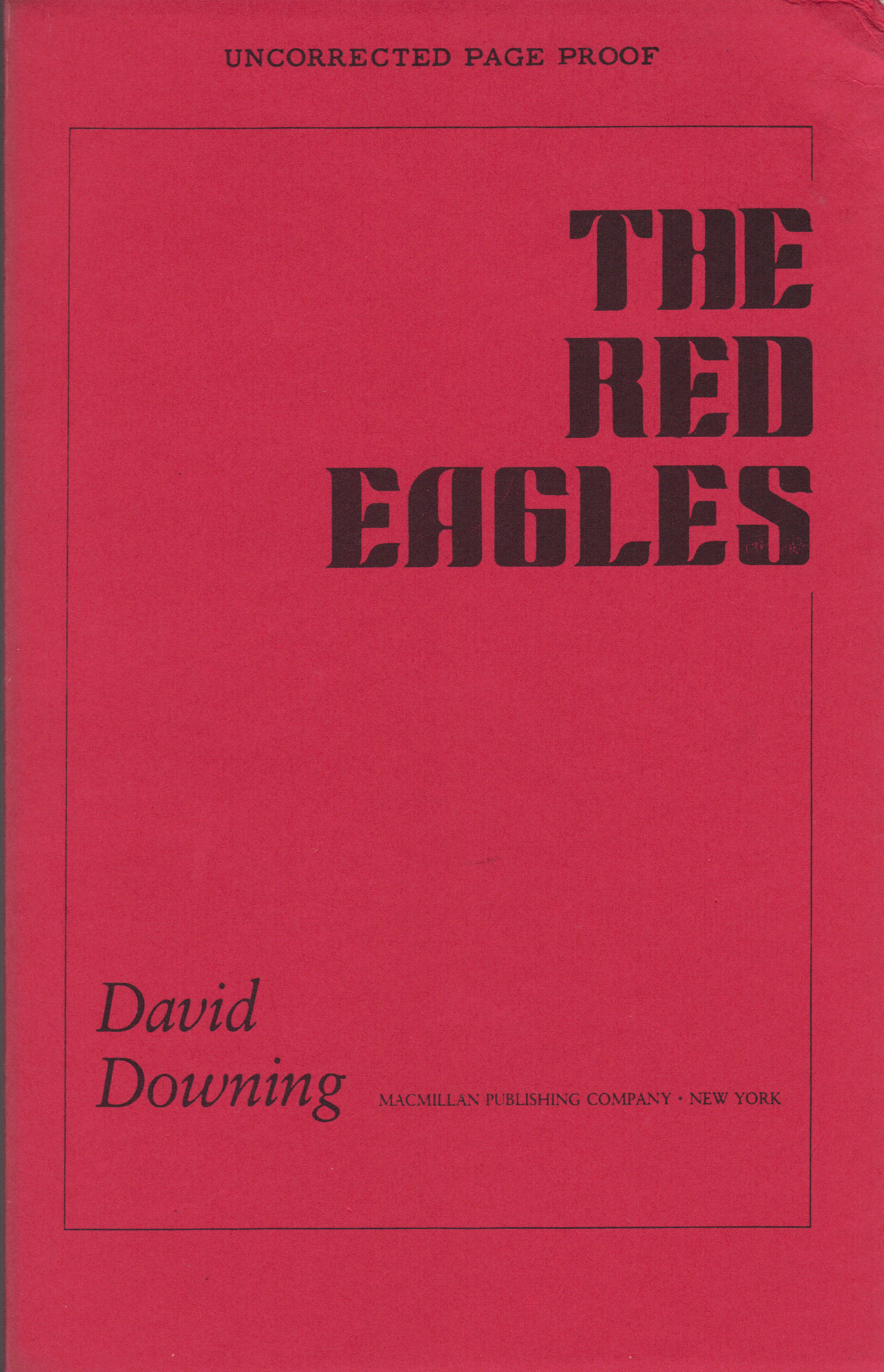 Image for RED EAGLES