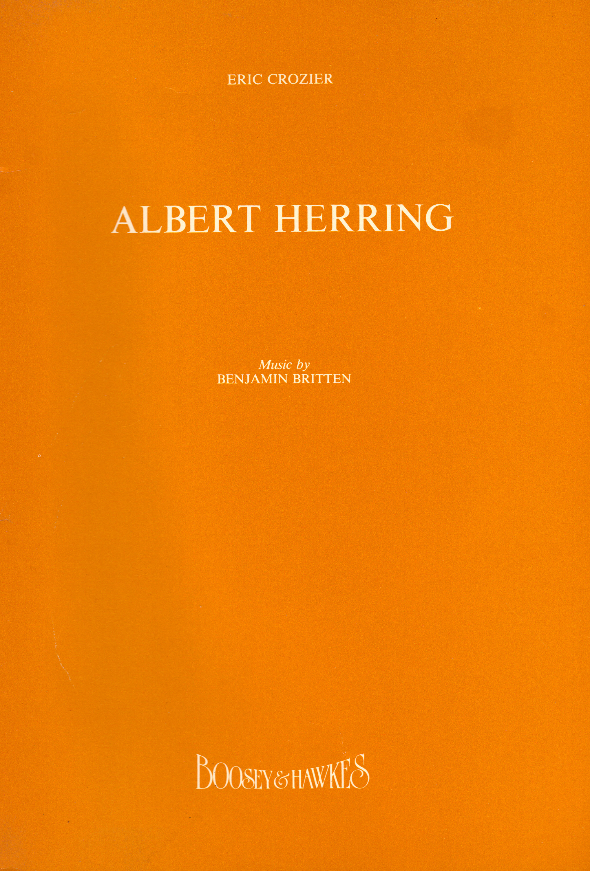 Image for ALBERT HERRING