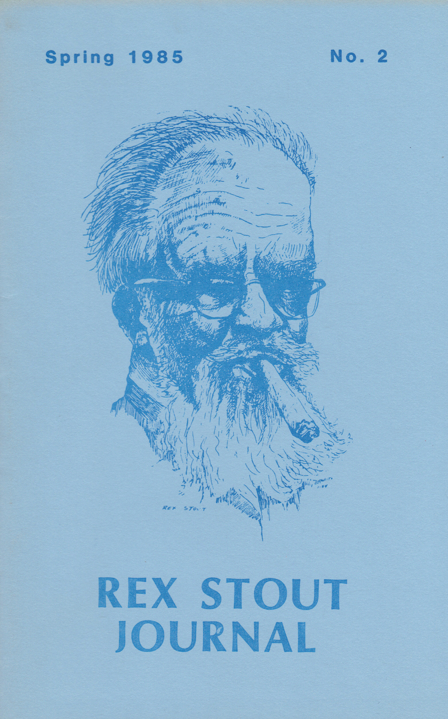 Image for REX STOUT JOURNAL