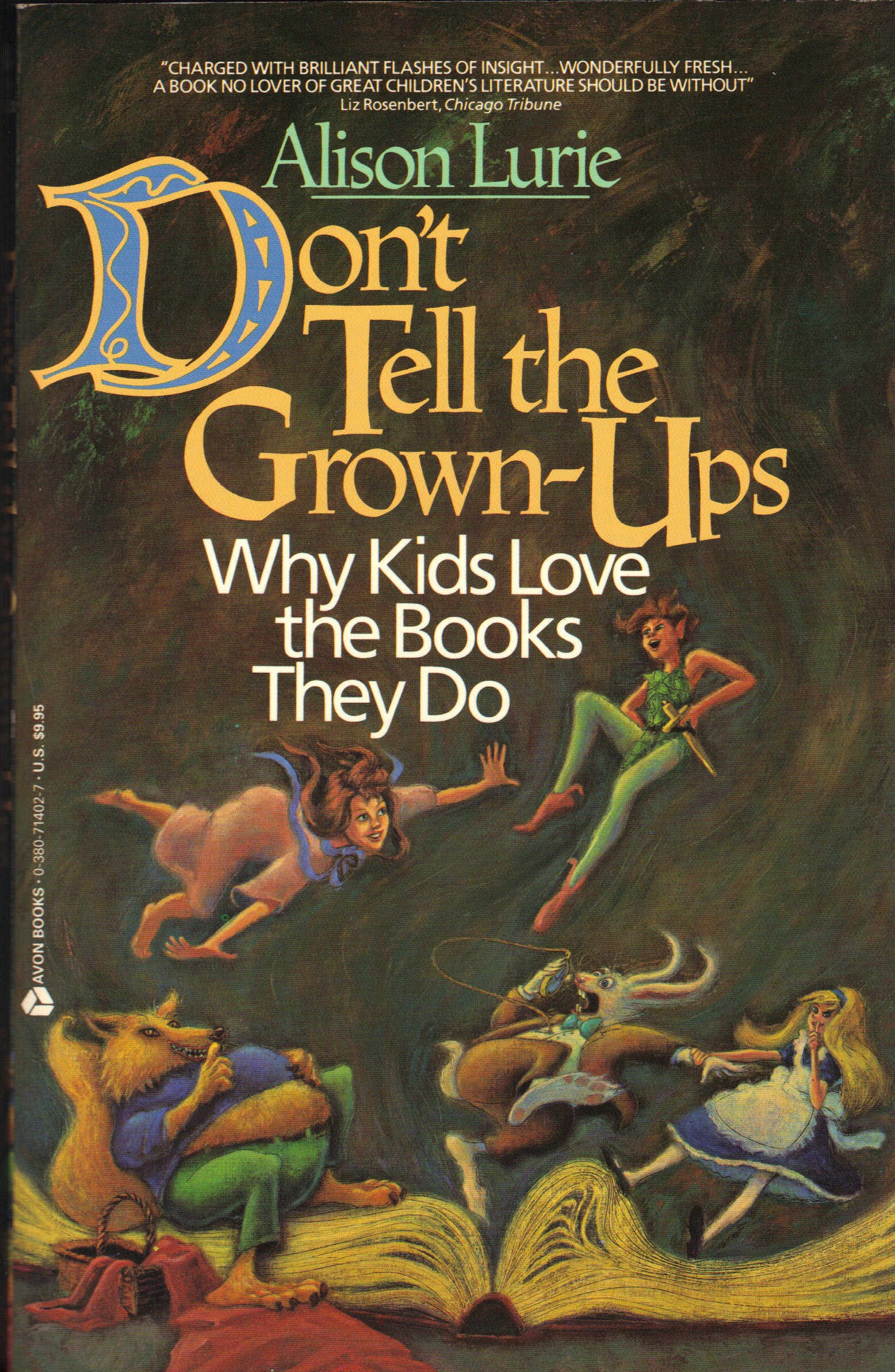 Image for DON'T TELL THE GROWN-UPS ~ Why Kids Love the Books They Do