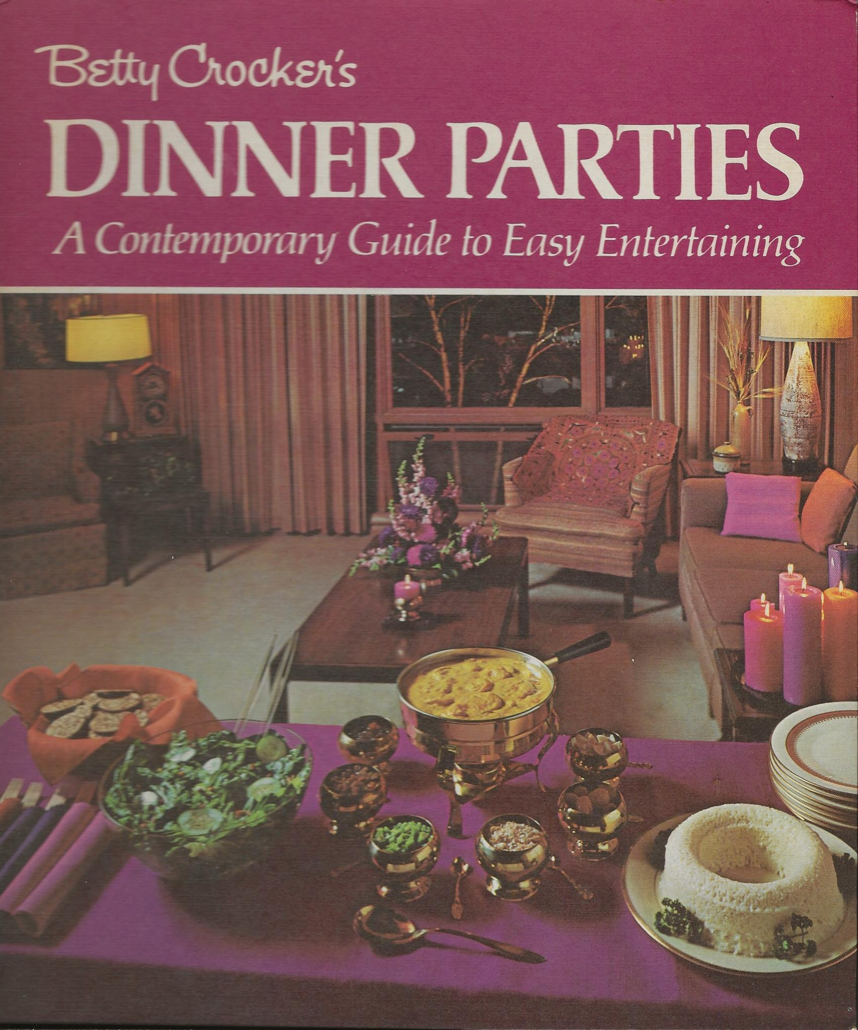 Image for BETTY CROCKER'S DINNER PARTIES