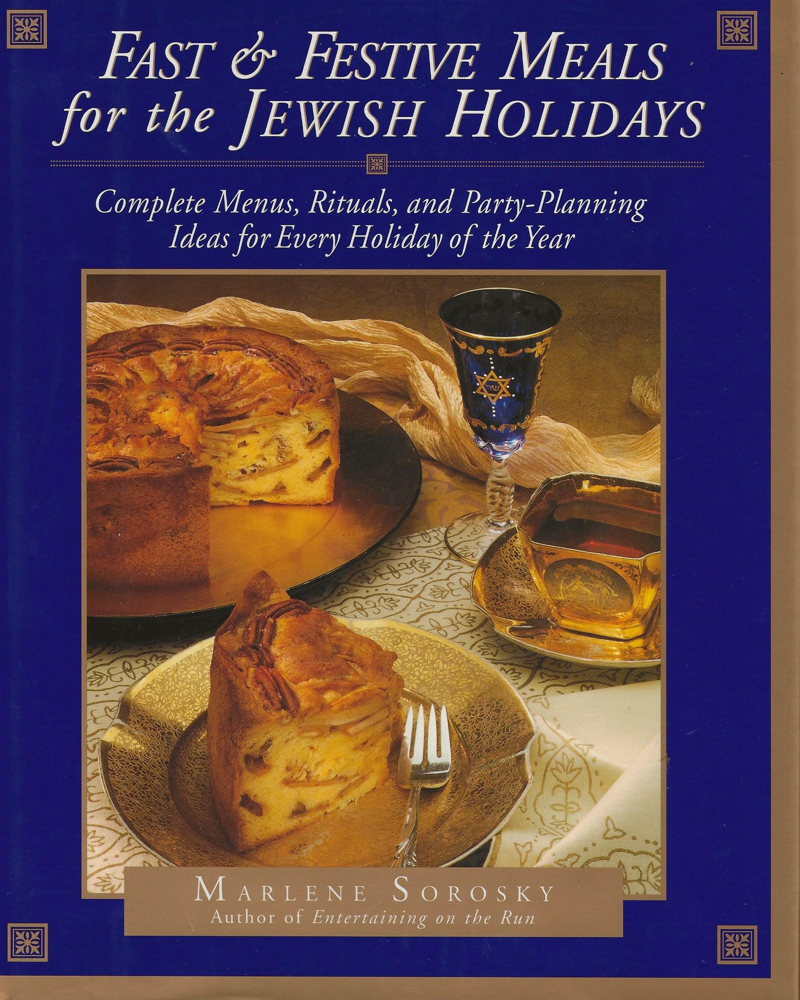 Image for FAST & FESTIVE MEALS FOR THE JEWISH HOLIDAYS