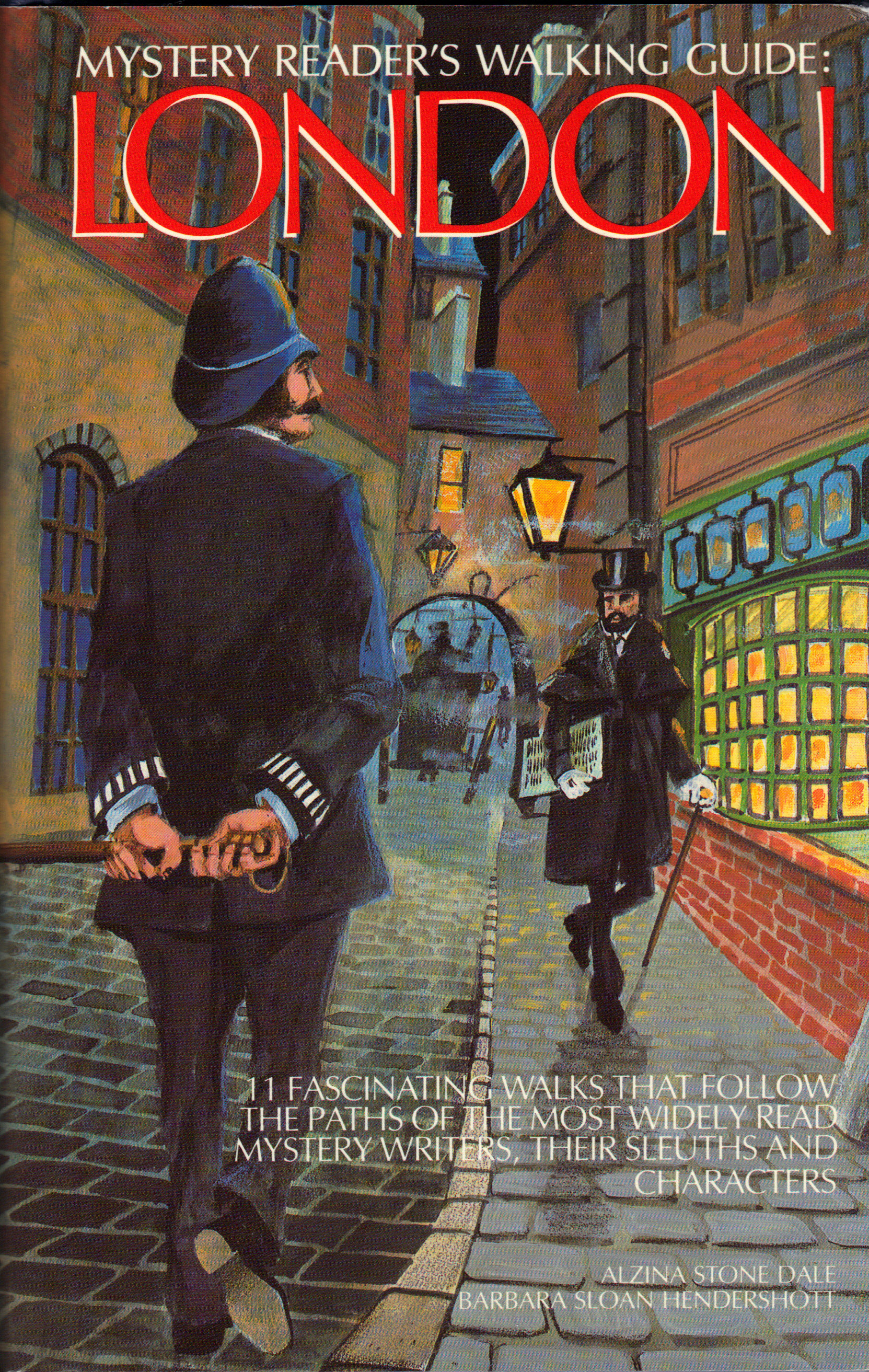 Image for MYSTERY READER'S WALKING GUIDE:  LONDON