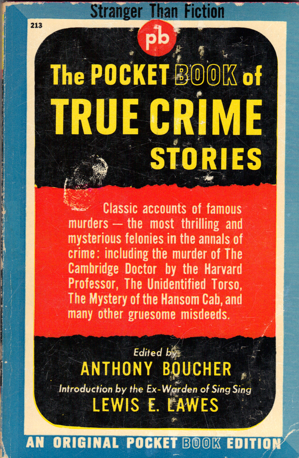 Image for THE POCKET BOOK OF TRUE CRIME STORIES