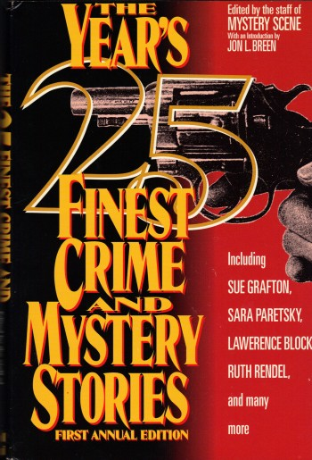 Image for THE YEAR'S 25 FINEST CRIME AND MYSTERY STORIES