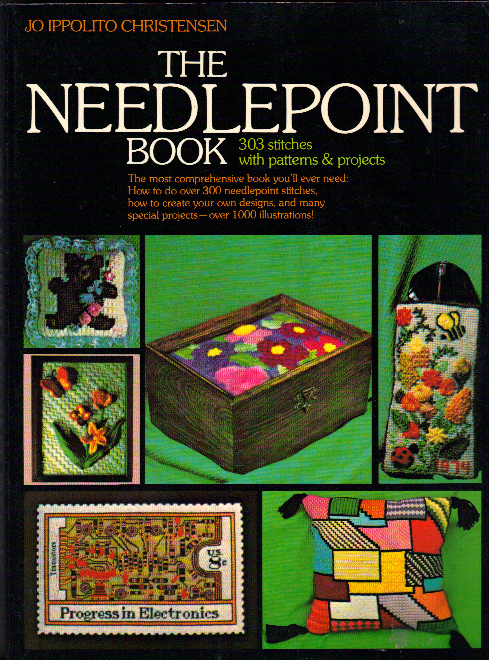 Image for NEEDLEPOINT BOOK, The