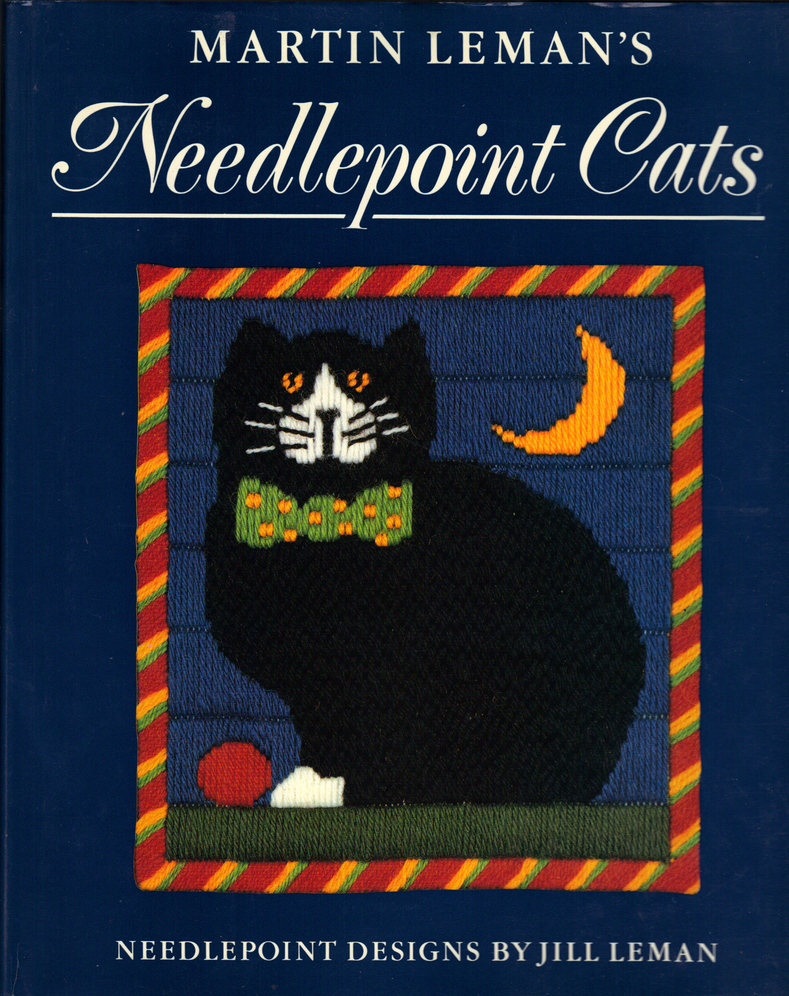 Image for MARTIN LEMAN'S NEEDLEPOINT CATS