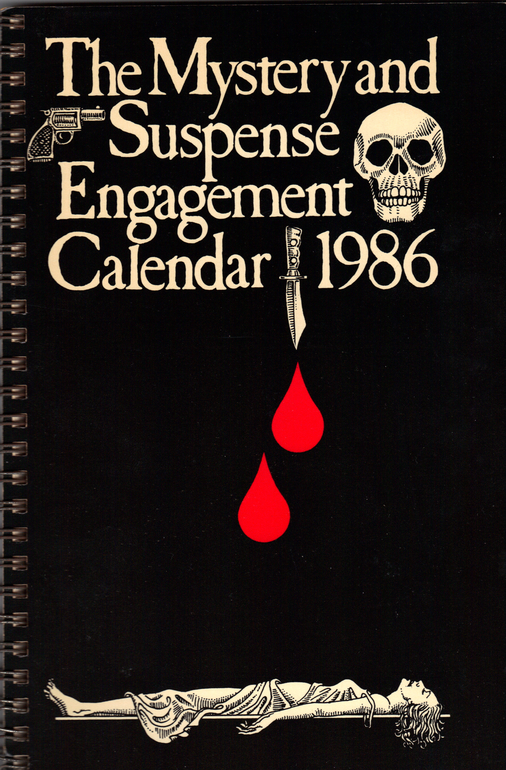 Image for THE MYSTERY AND SUSPENSE ENGAGEMENT CALENDAR 1986