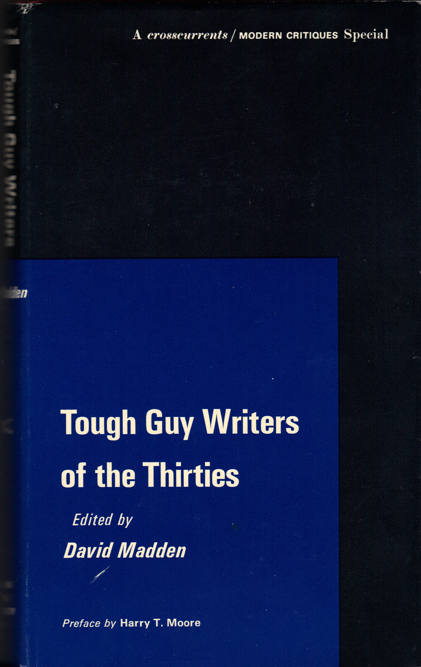Image for TOUGH GUY WRITERS OF THE THIRTIES