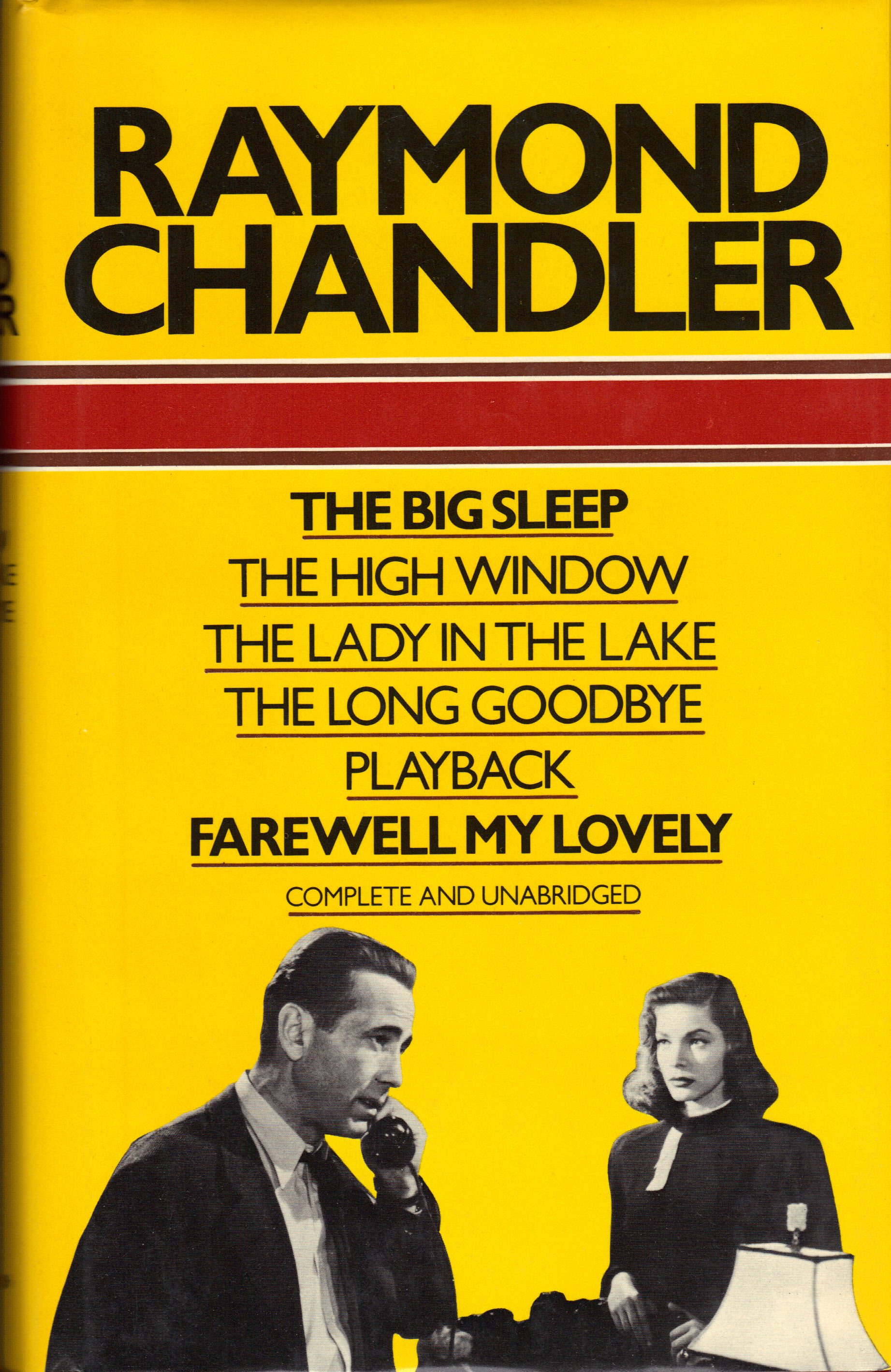 Image for RAYMOND CHANDLER ~Six Complete Novels