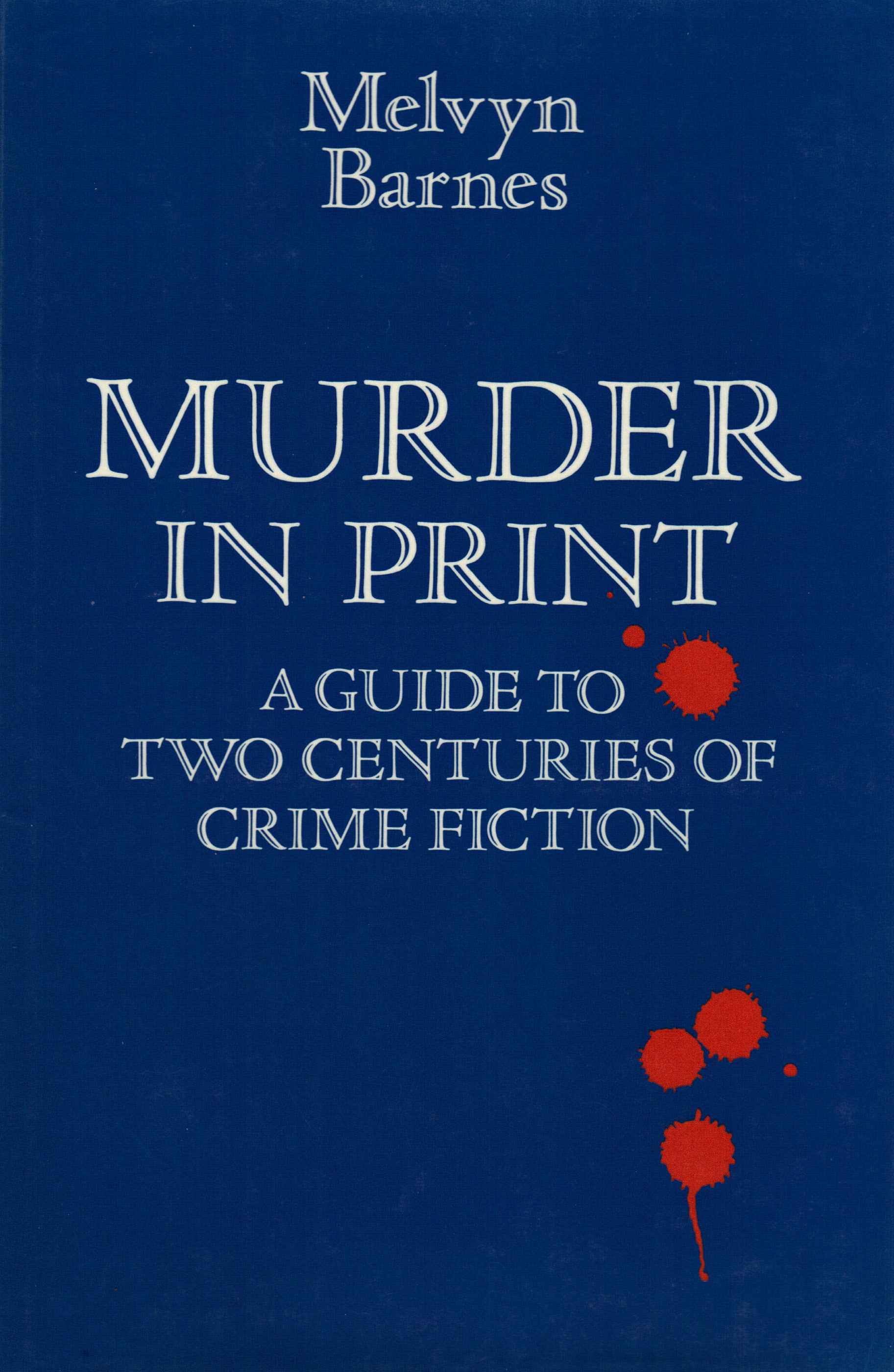 Image for MURDER IN PRINT