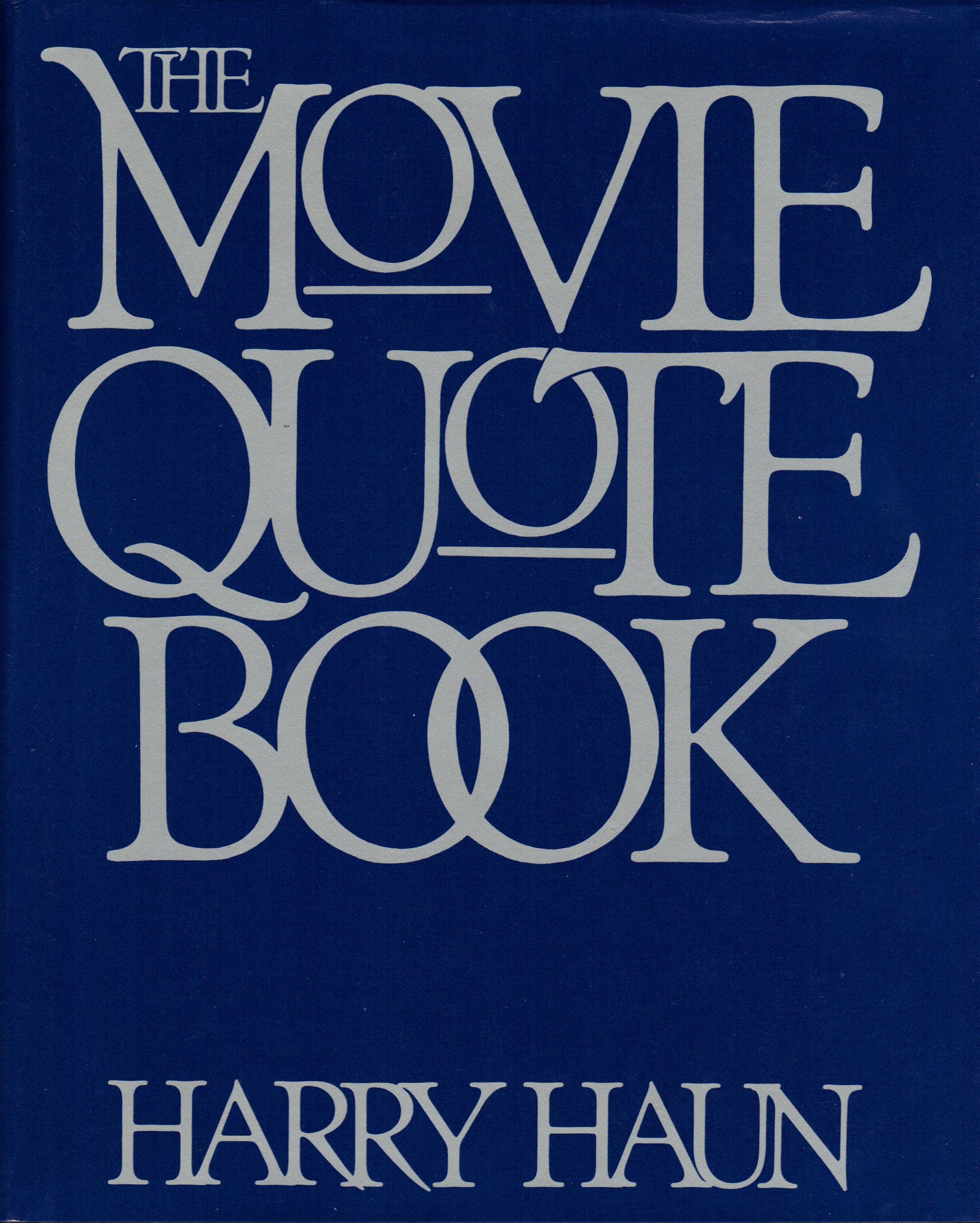Image for THE MOVIE QUOTE BOOK