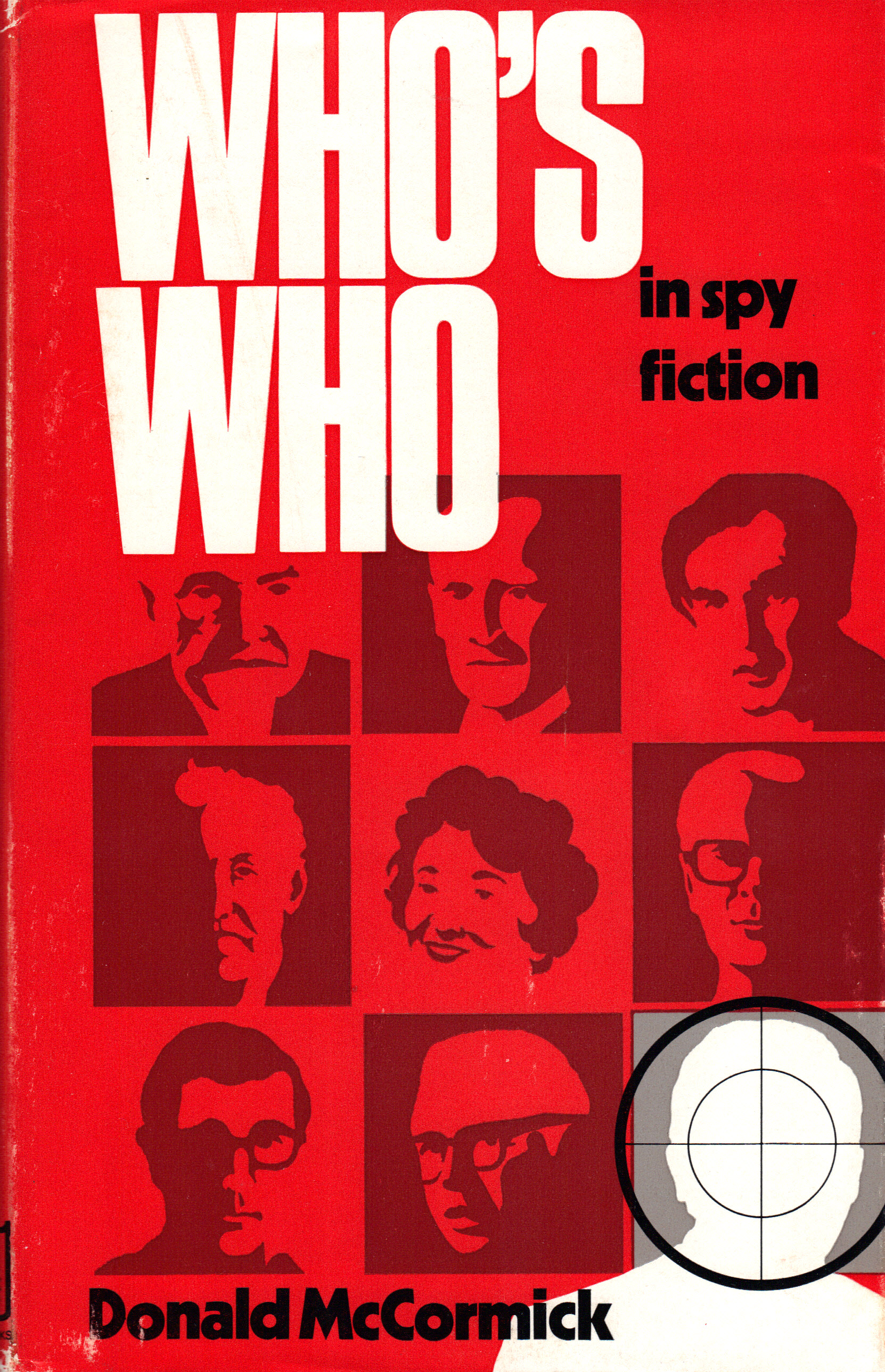Image for WHO'S WHO IN SPY FICTION