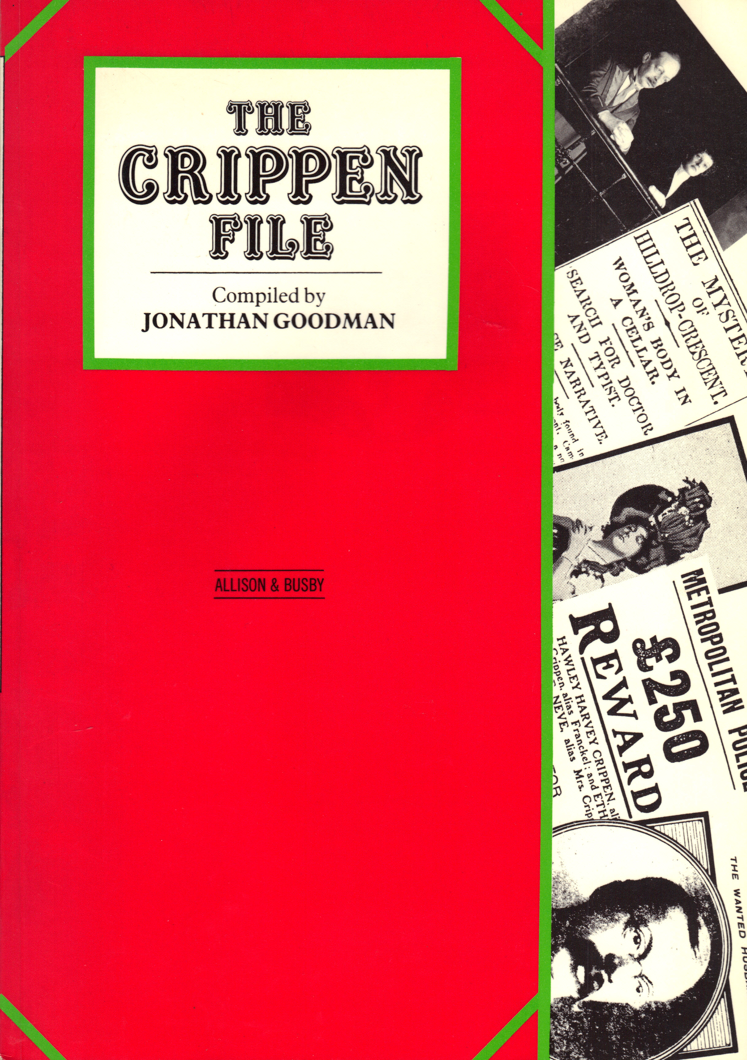 Image for THE CRIPPEN FILE