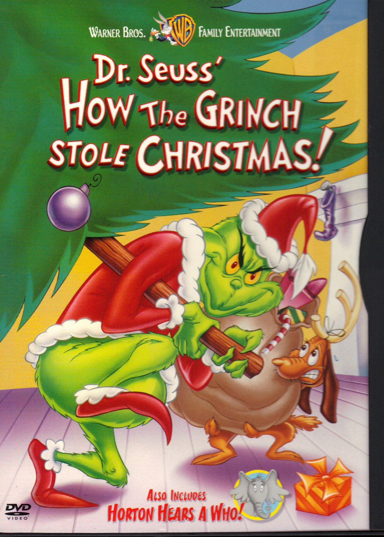 Image for HOW THE GRINCH STOLE CHRISTMAS! and HORTON HEARS A WHO!