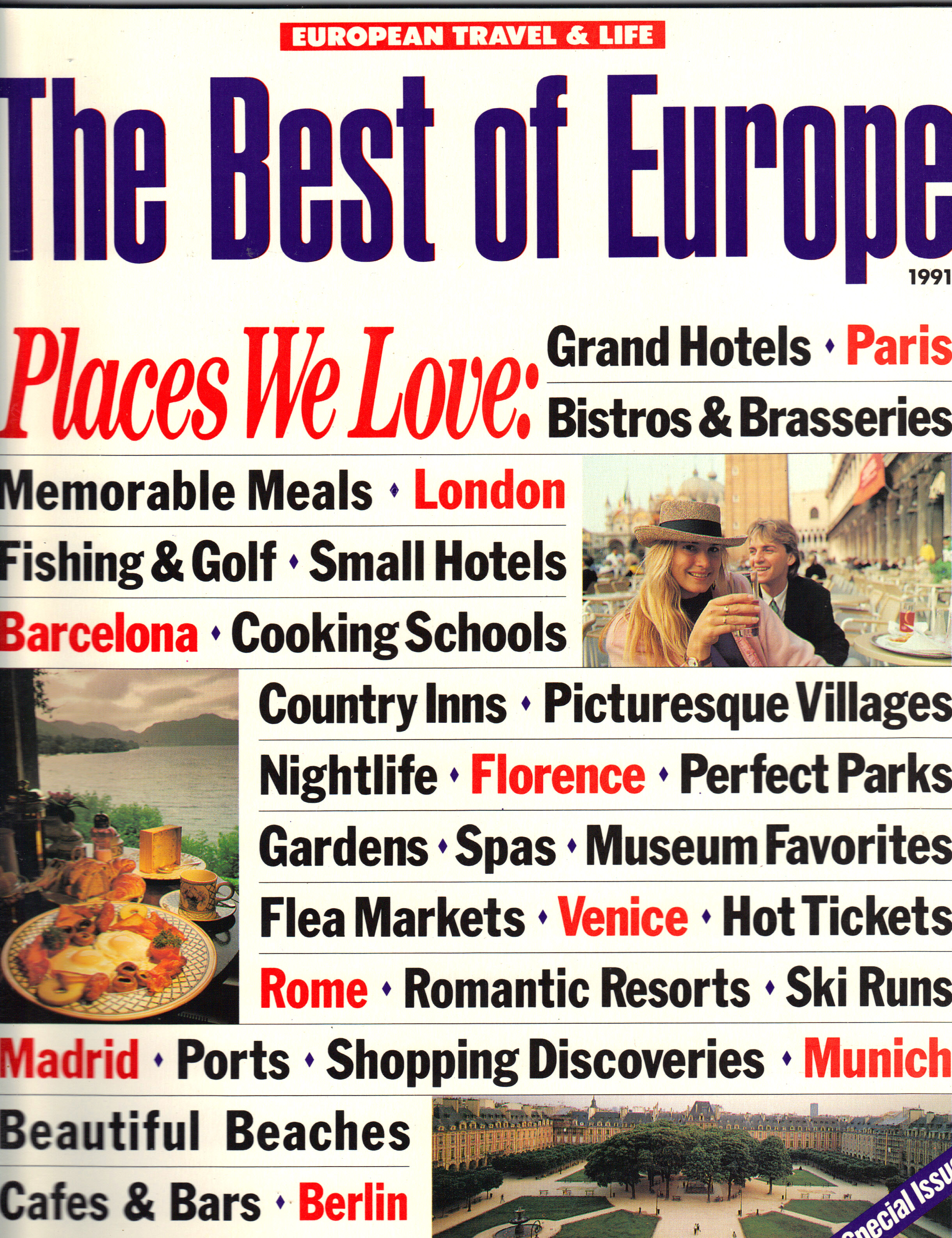 Image for THE BEST OF EUROPE 1991, Special Issue