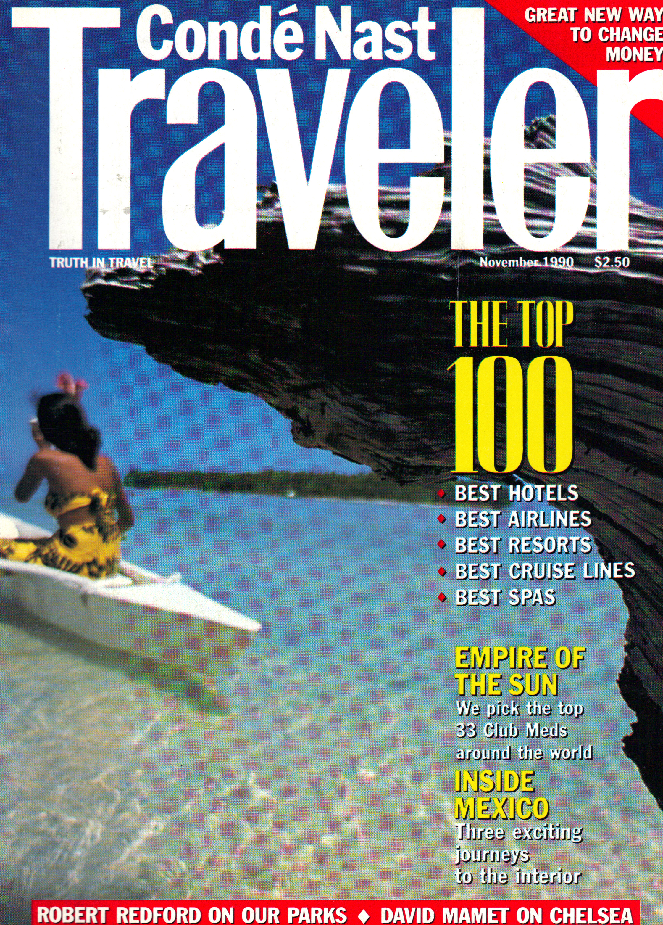 Image for TRAVELER ~ NOVEMBER 1990