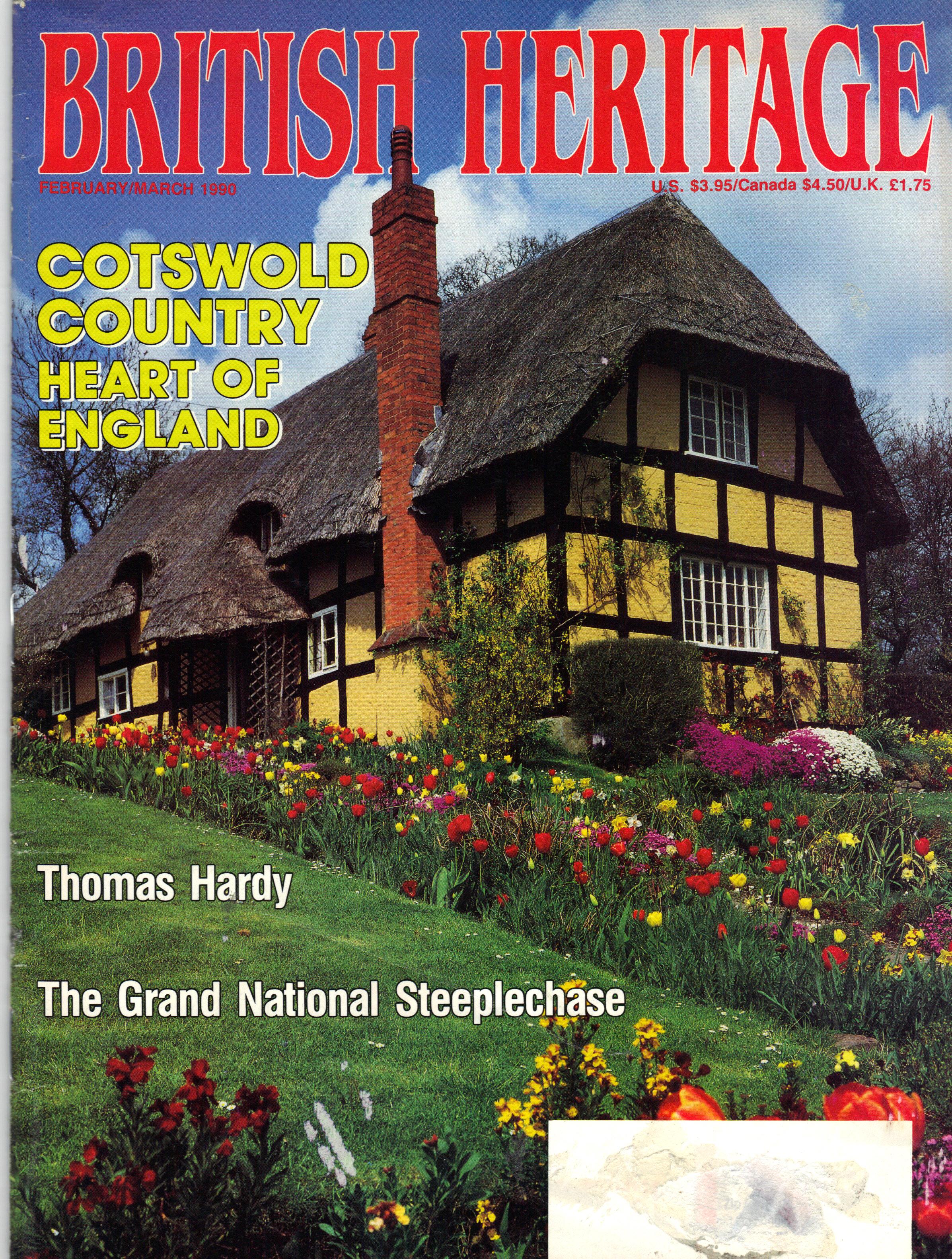 BRITISH HERITAGE ~ FEBRUARY/MARCH 1990