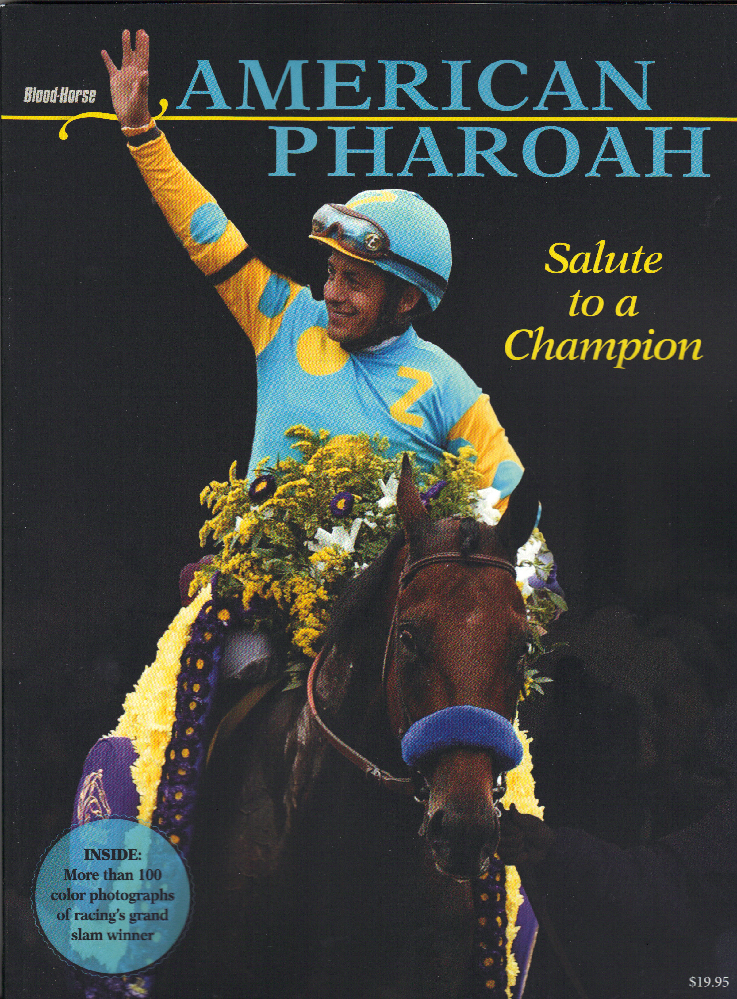 Image for AMERICAN PHAROAH ~ SALUTE TO A CHAMPION Special Collector's Edition, December 2015