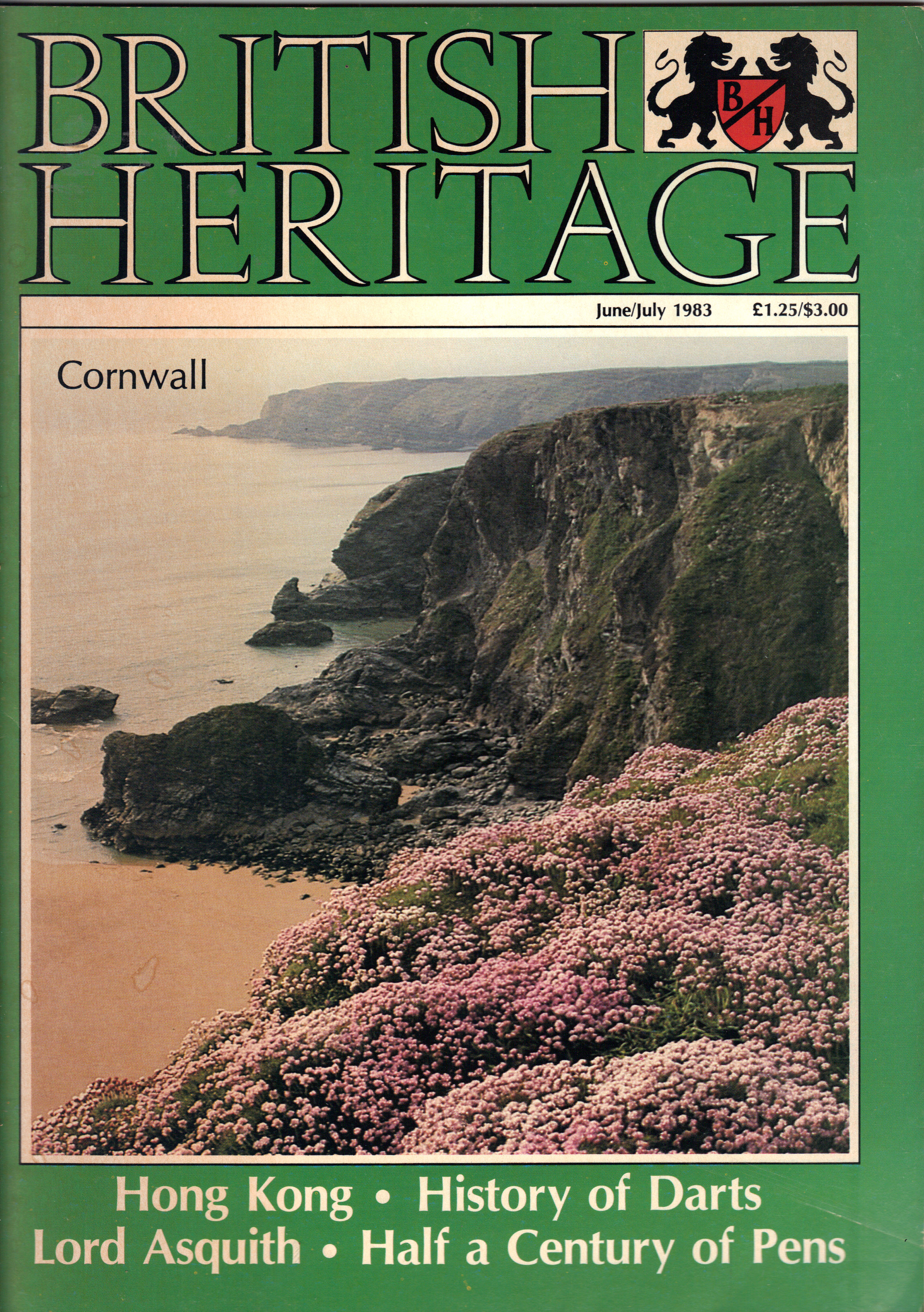 Image for BRITISH HERITAGE June/July 1983