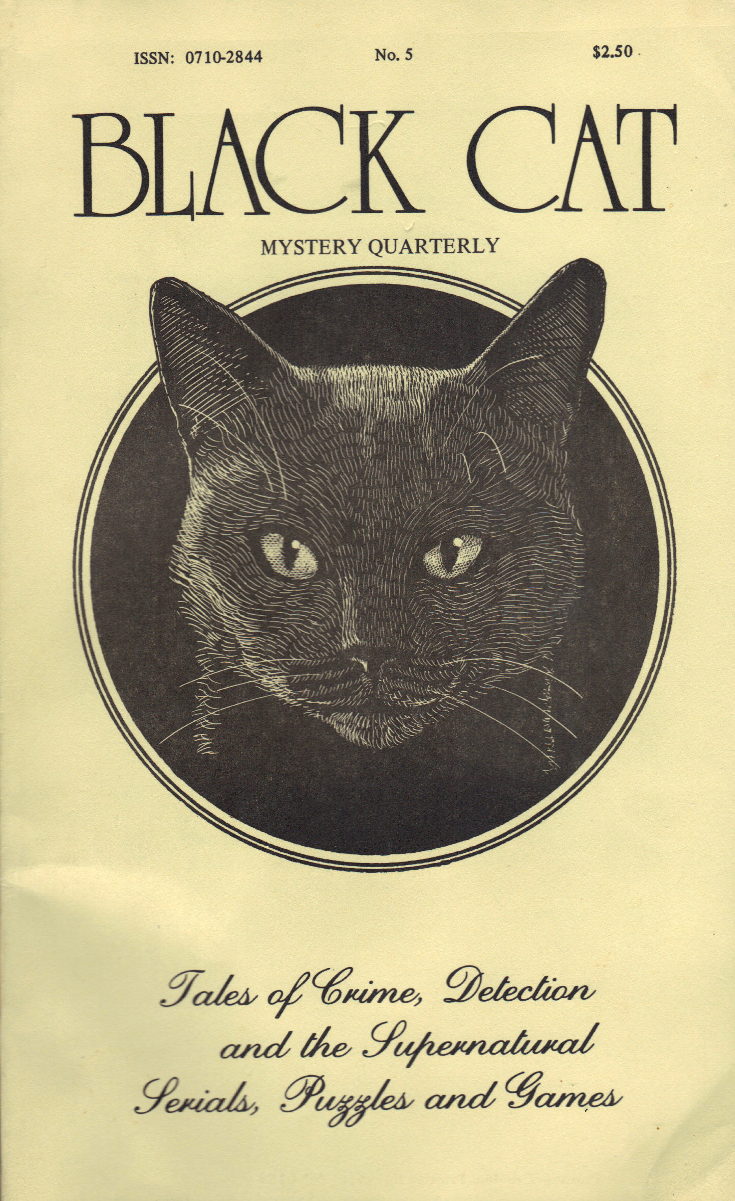 Image for BLACK CAT MYSTERY QUARTERLY NO. 5
