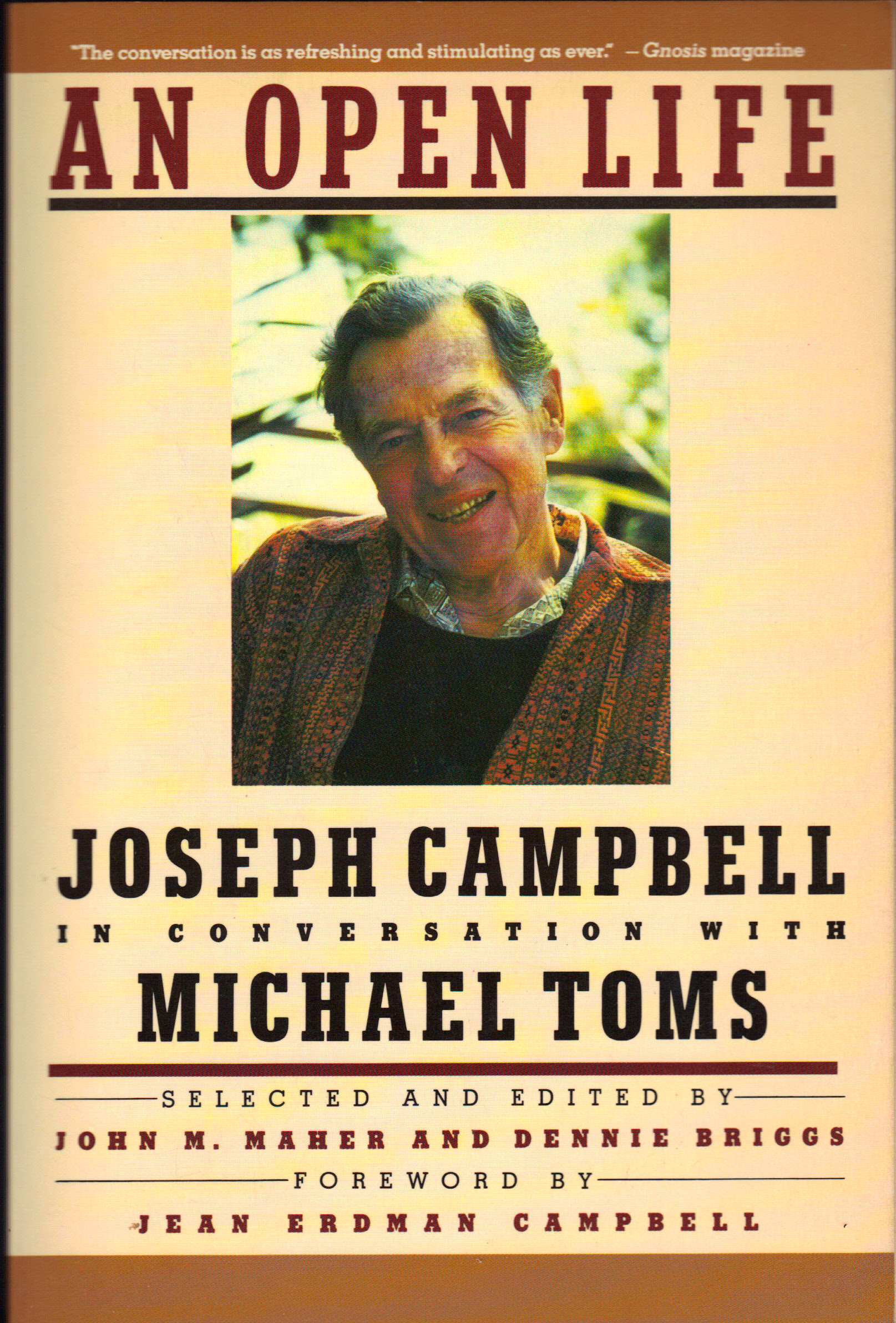 Image for AN OPEN LIFE ~ In Conversation with Michael Toms