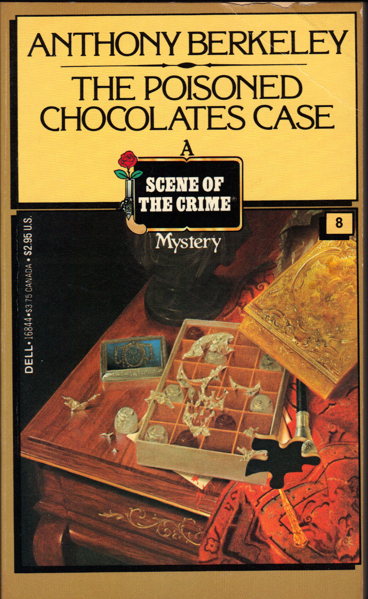 Image for THE POISONED CHOCOLATES CASE