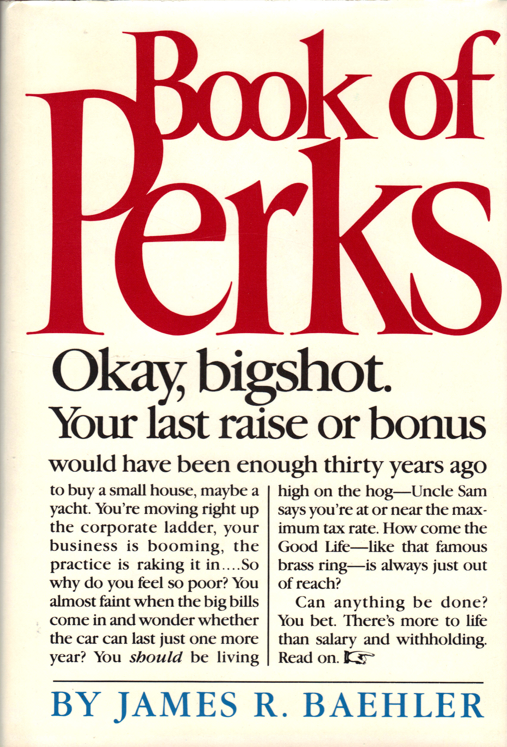 Image for BOOK OF PERKS