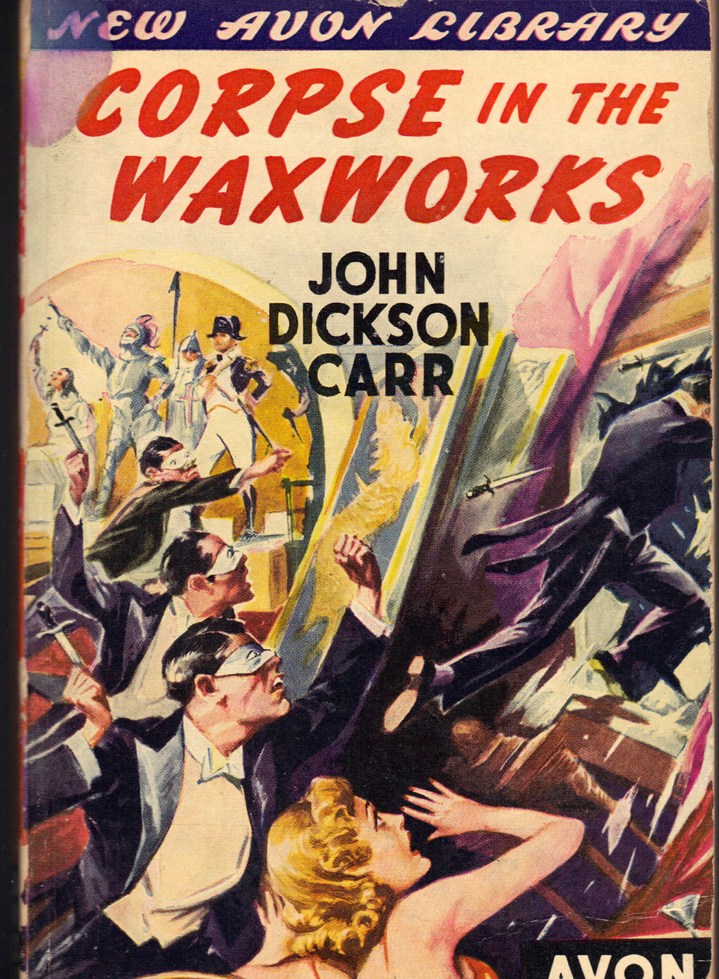 Image for CORPSE IN THE WAXWORKS