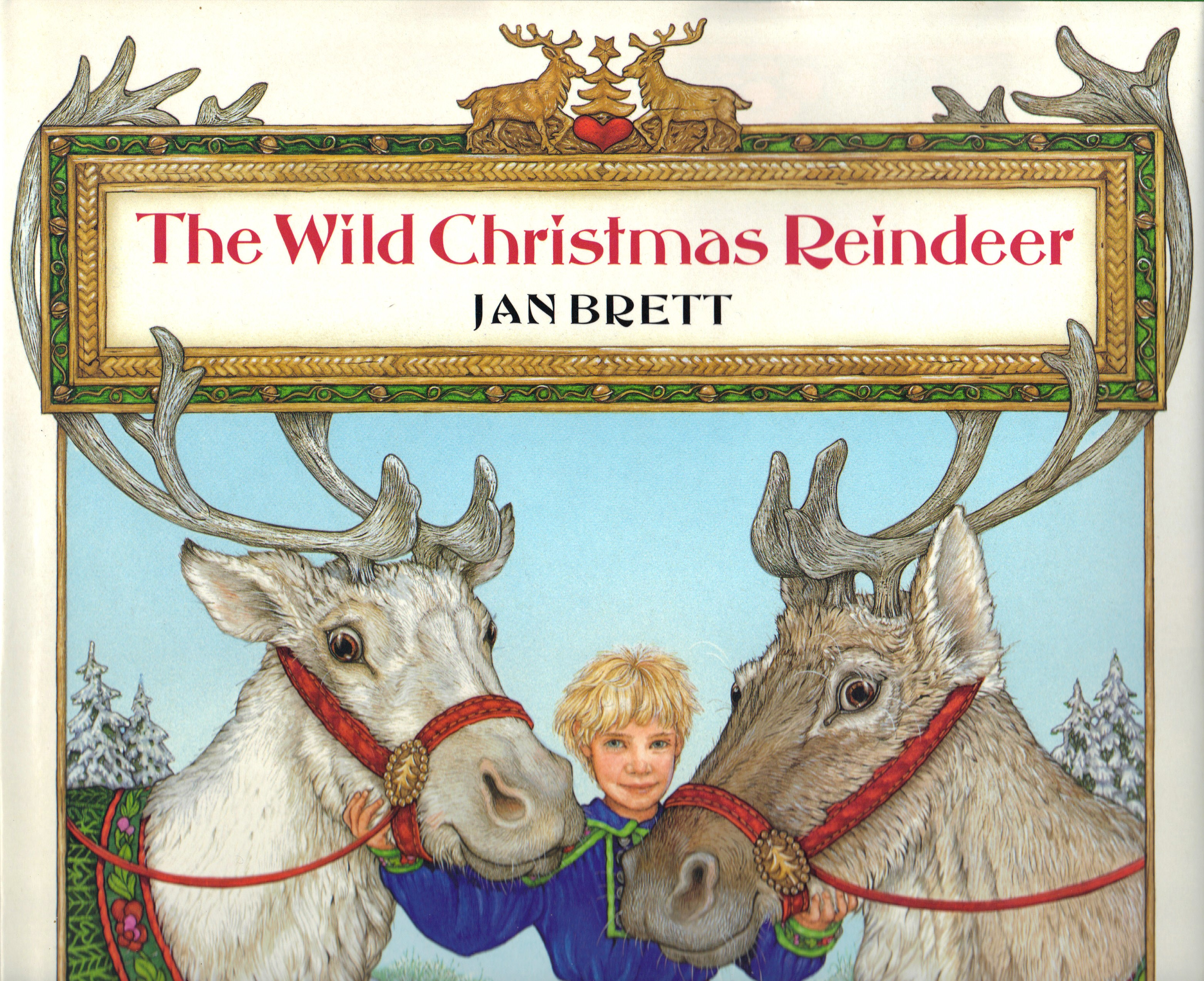 Image for THE WILD CHRISTMAS REINDEER