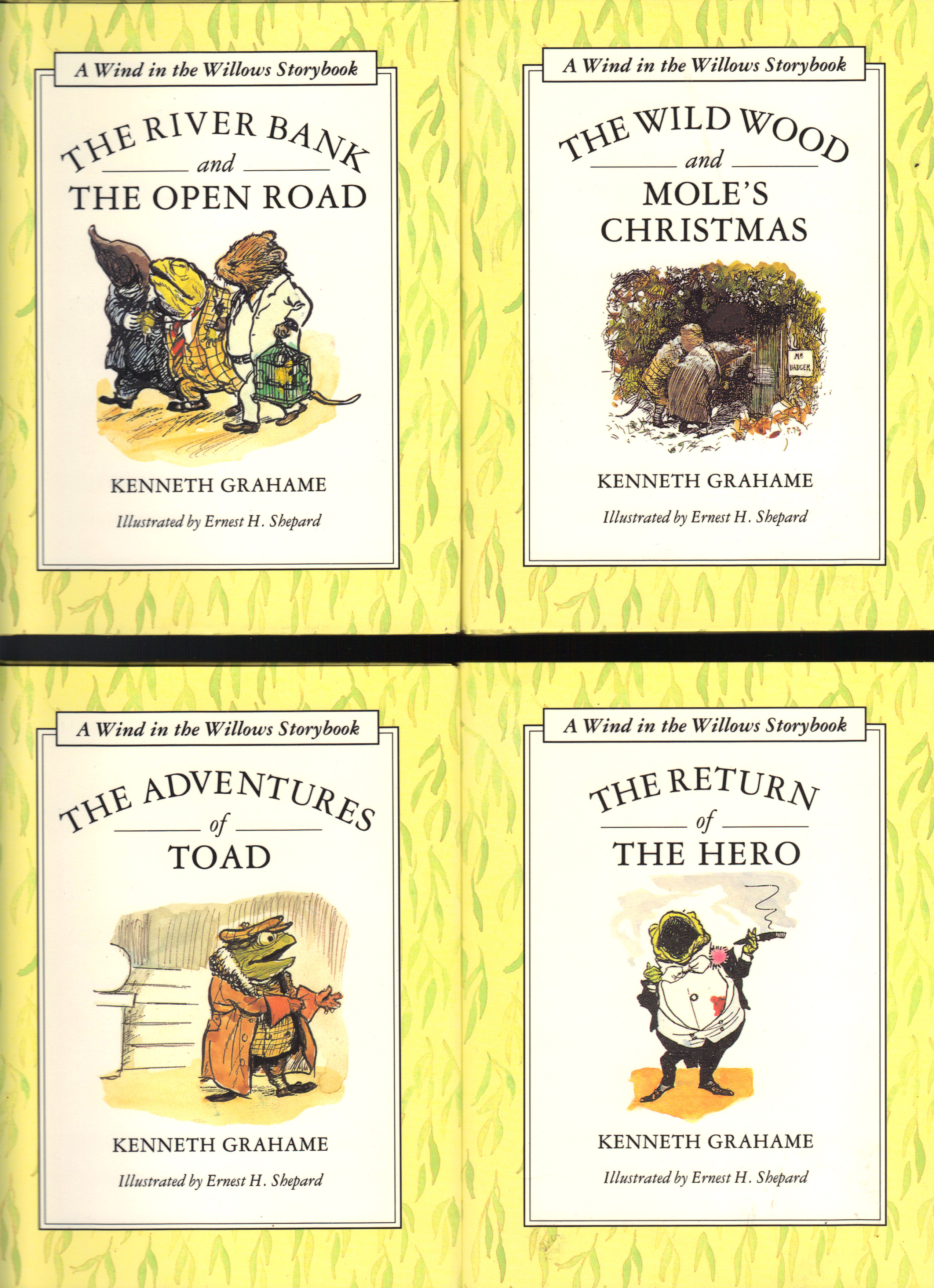Image for A WIND IN THE WILLOWS STORYBOOK ~ Four Volumes