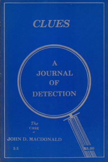 Image for CLUES ~ A JOURNAL OF DETECTION ~ Vol. 1:1 Spring 1980