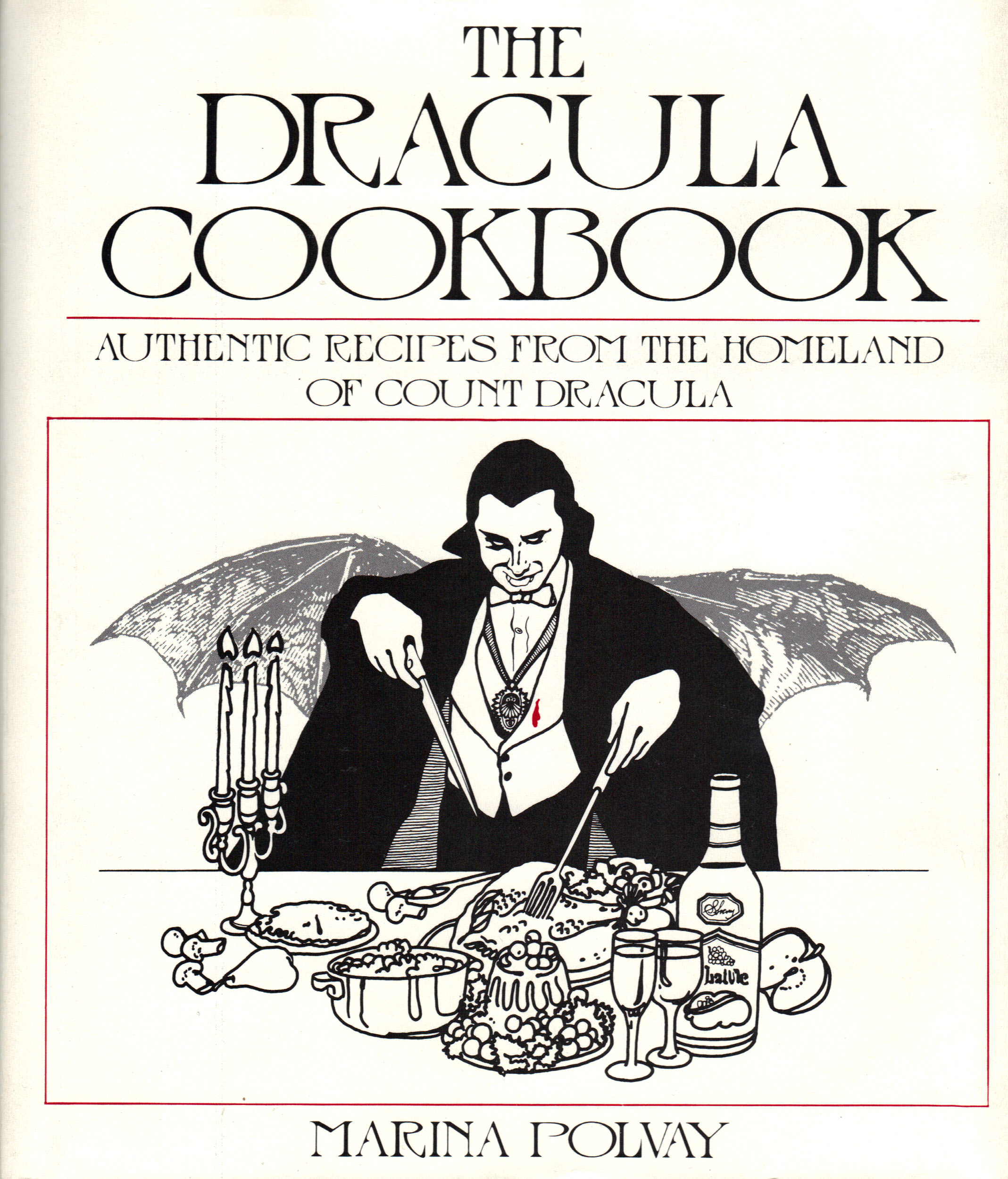 Image for THE DRACULA COOKBOOK