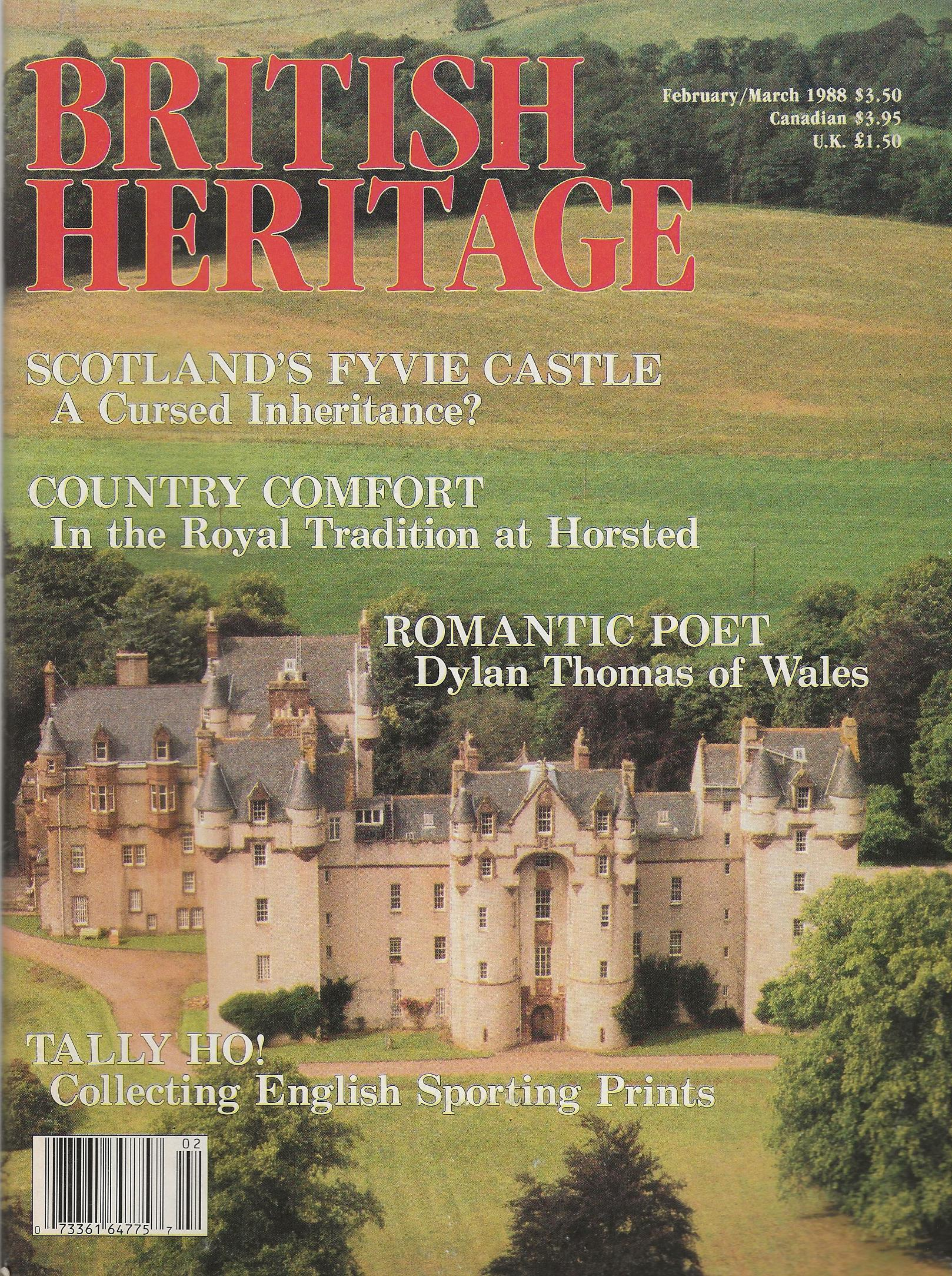 Image for BRITISH HERITAGE ~ February / March 1988
