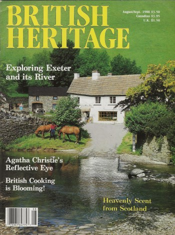 Image for BRITISH HERITAGE ~ August / September 1988