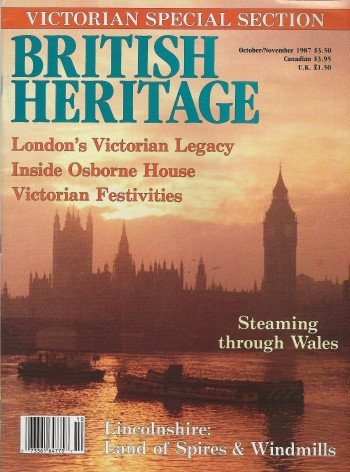 Image for BRITISH HERITAGE ~ October / November 1987